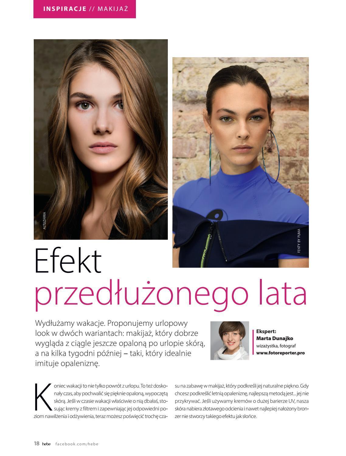 Gazetka promocyjna Hebe do 30/09/2018 str.18