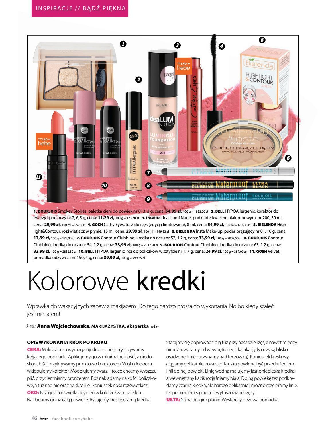 Gazetka promocyjna Hebe do 30/06/2018 str.45