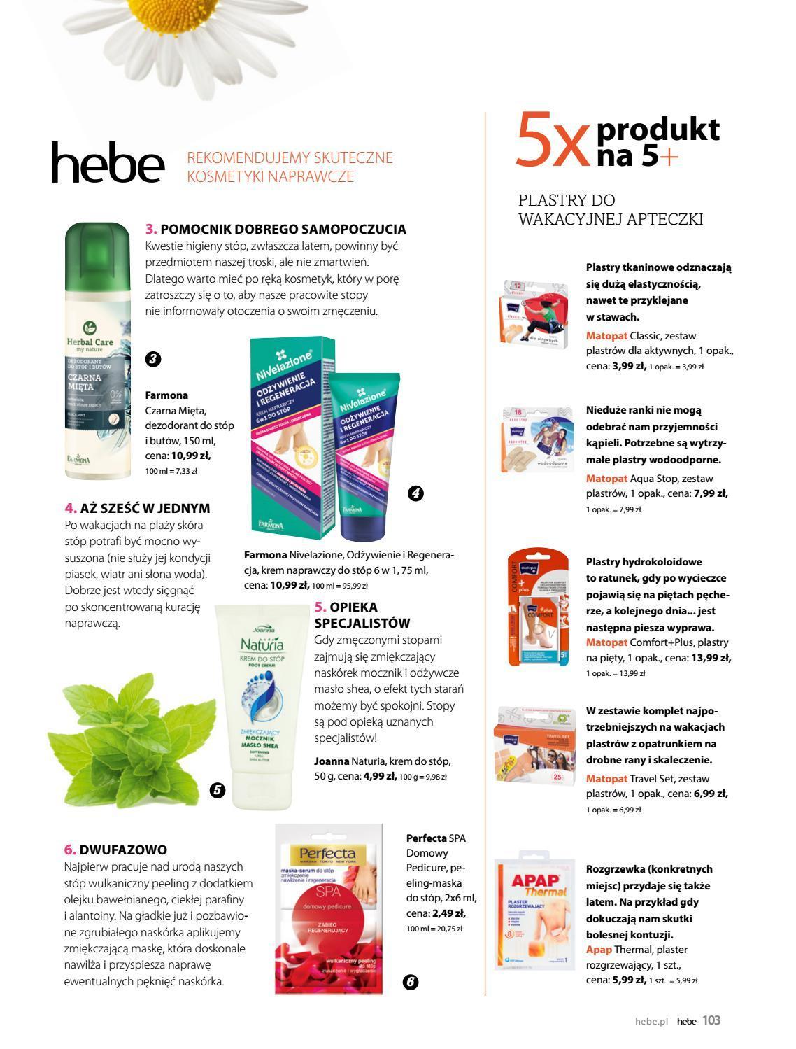 Gazetka promocyjna Hebe do 30/06/2019 str.103