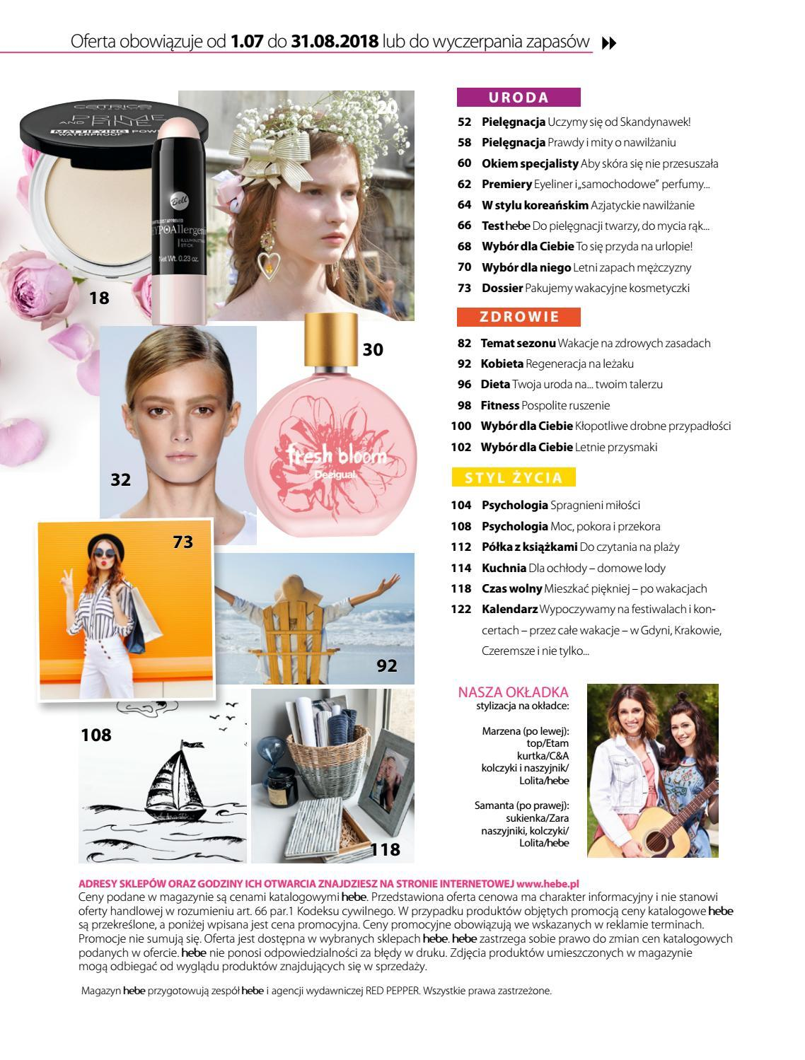 Gazetka promocyjna Hebe do 31/08/2018 str.3