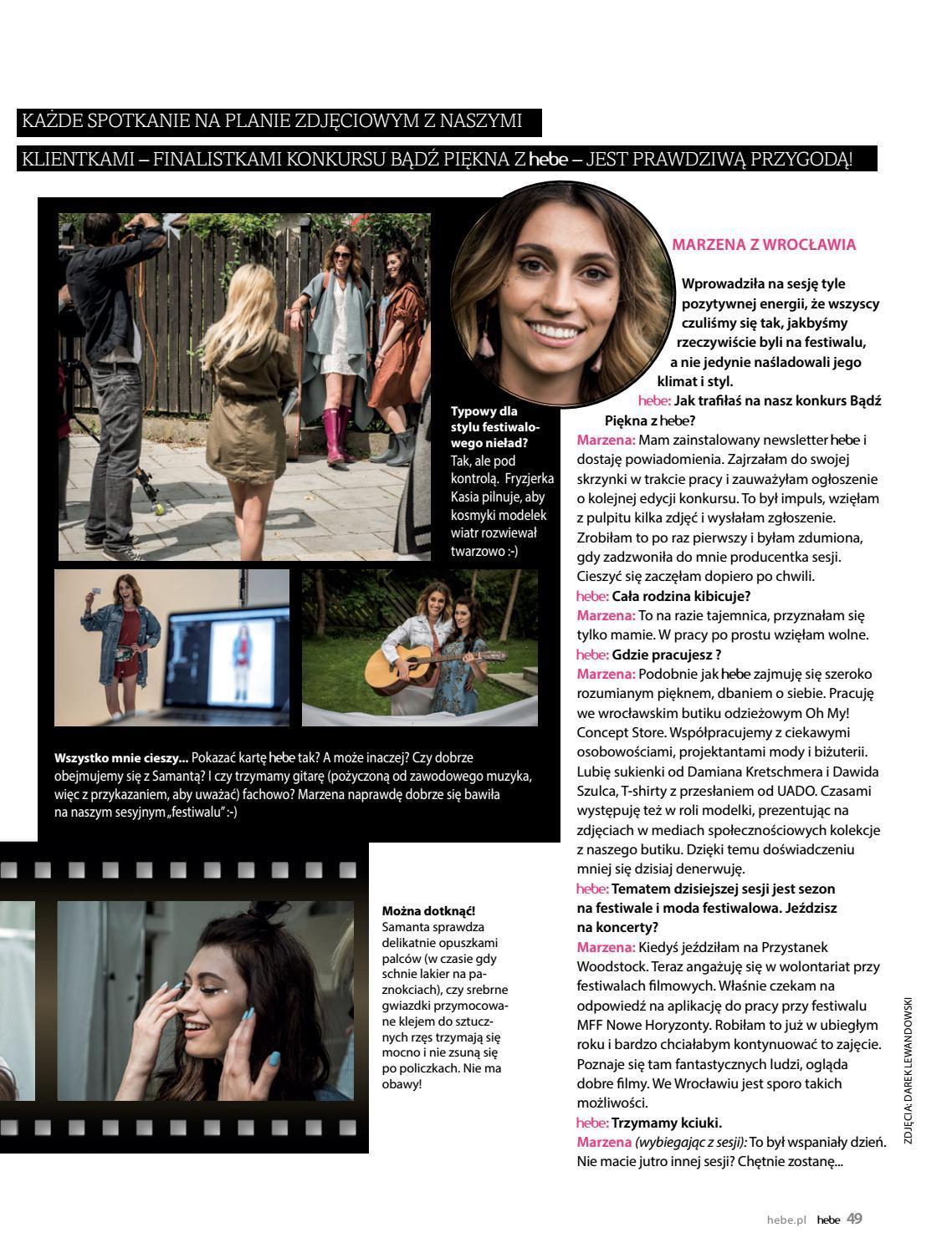 Gazetka promocyjna Hebe do 31/08/2018 str.49
