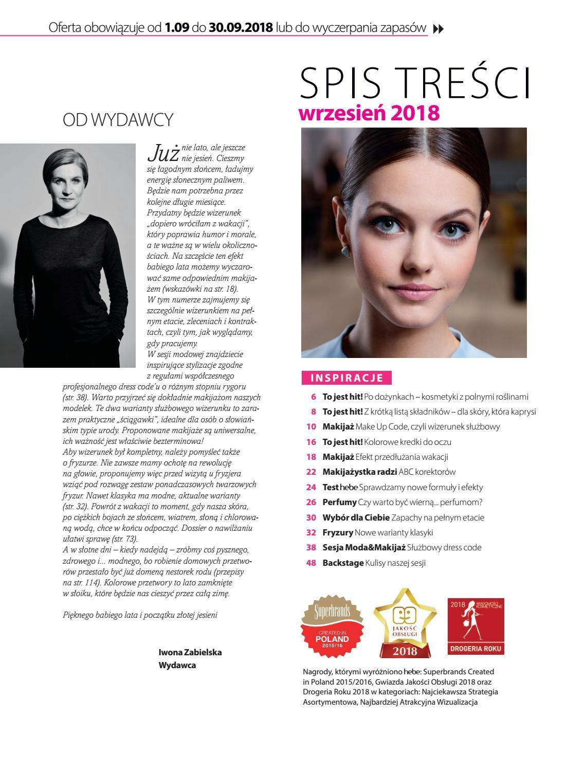 Gazetka promocyjna Hebe do 30/09/2018 str.2