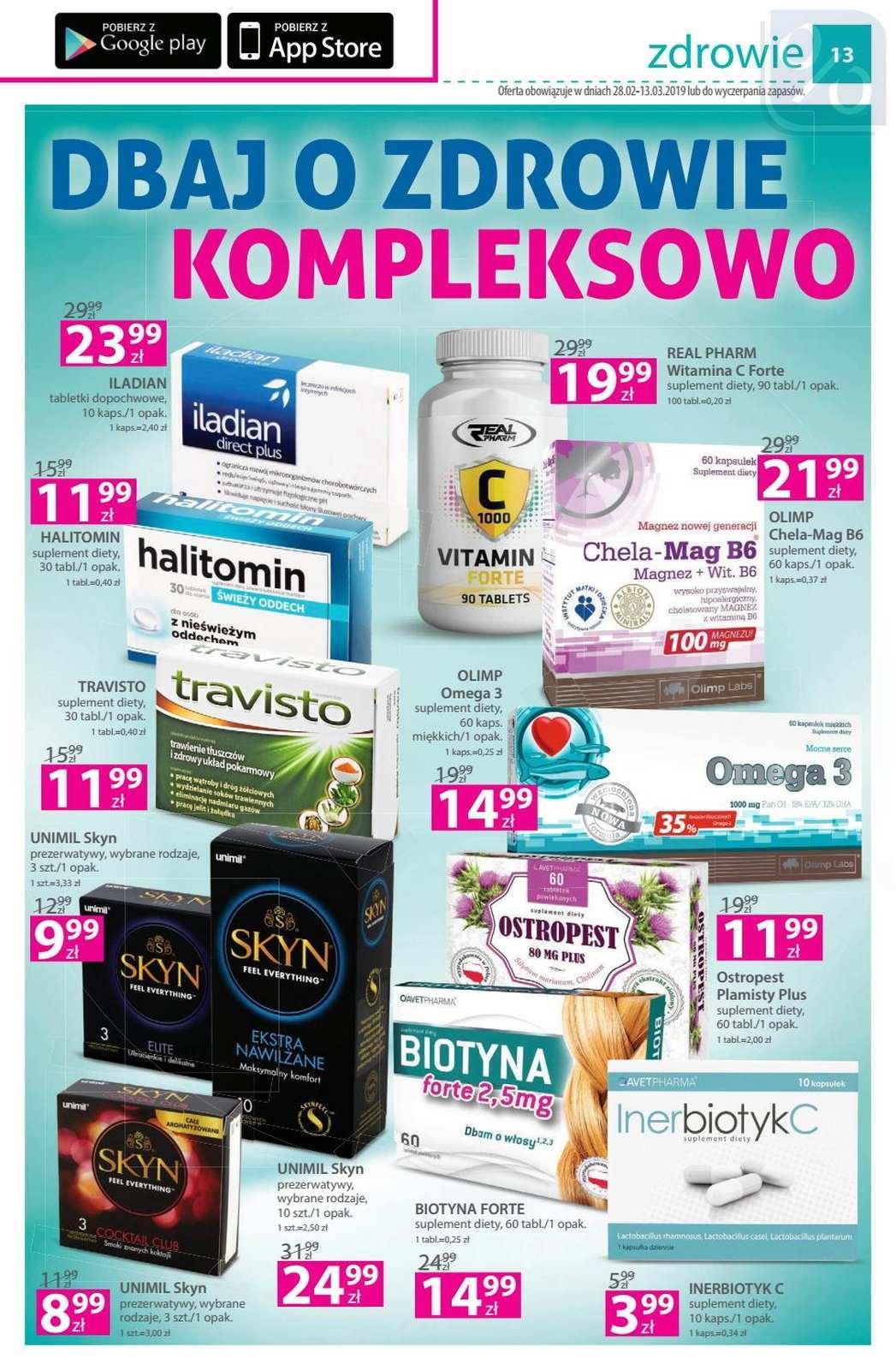 Gazetka promocyjna Hebe do 13/03/2019 str.12