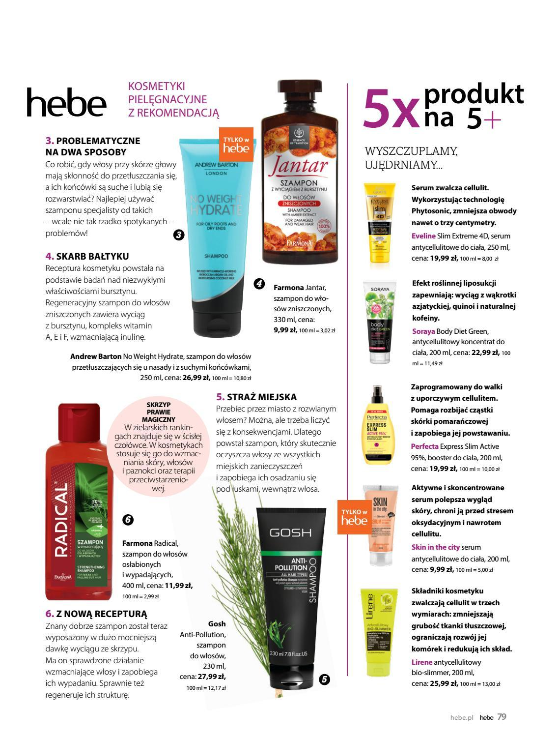 Gazetka promocyjna Hebe do 30/06/2019 str.79
