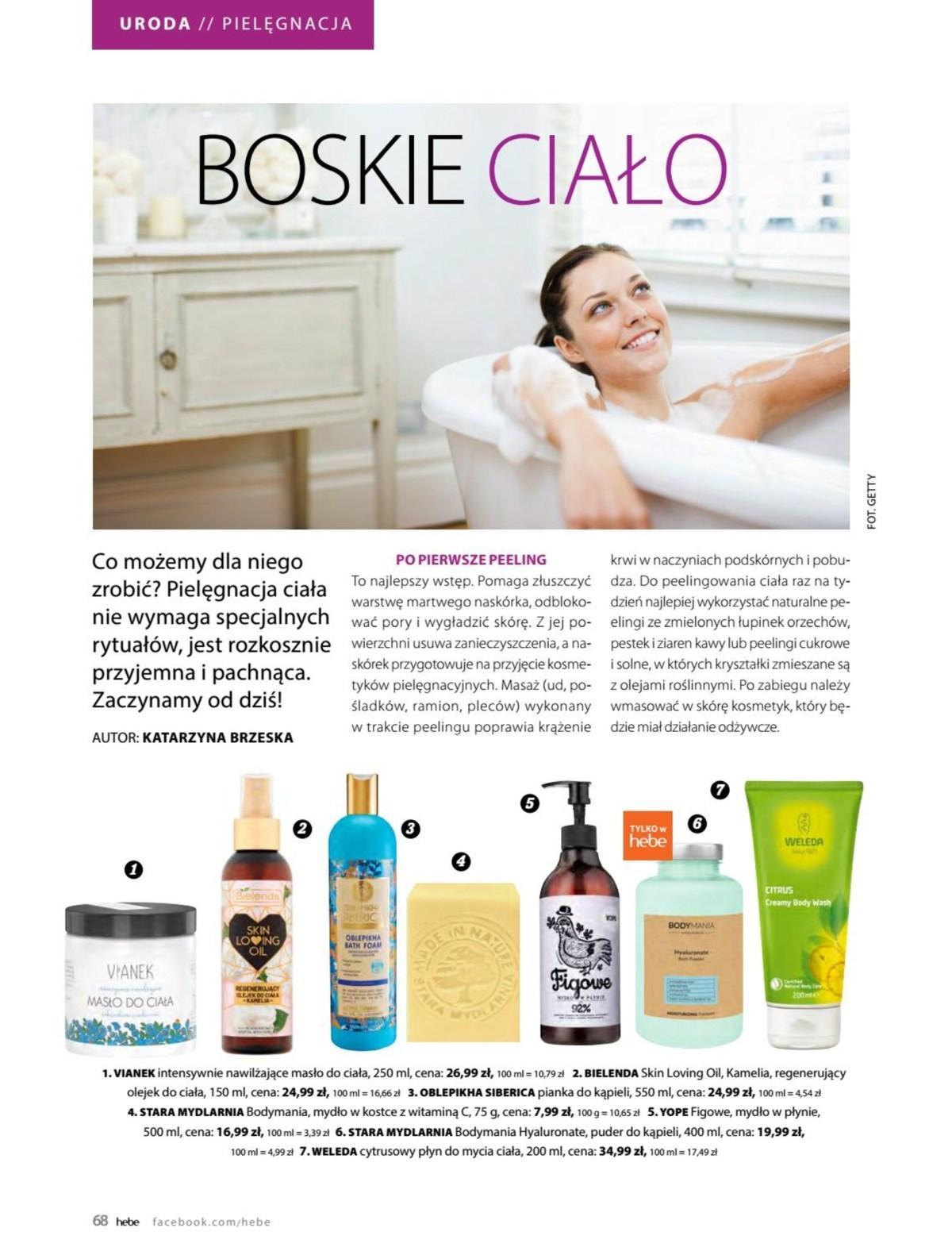 Gazetka promocyjna Hebe do 31/05/2019 str.67