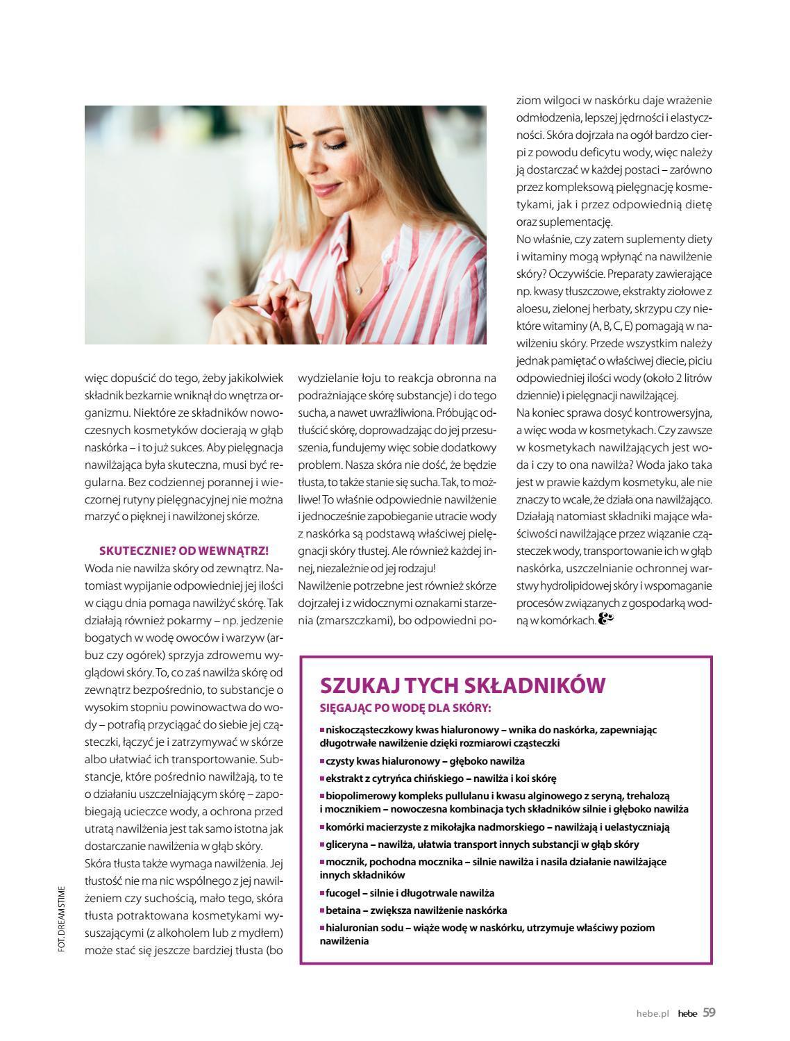 Gazetka promocyjna Hebe do 31/08/2018 str.59