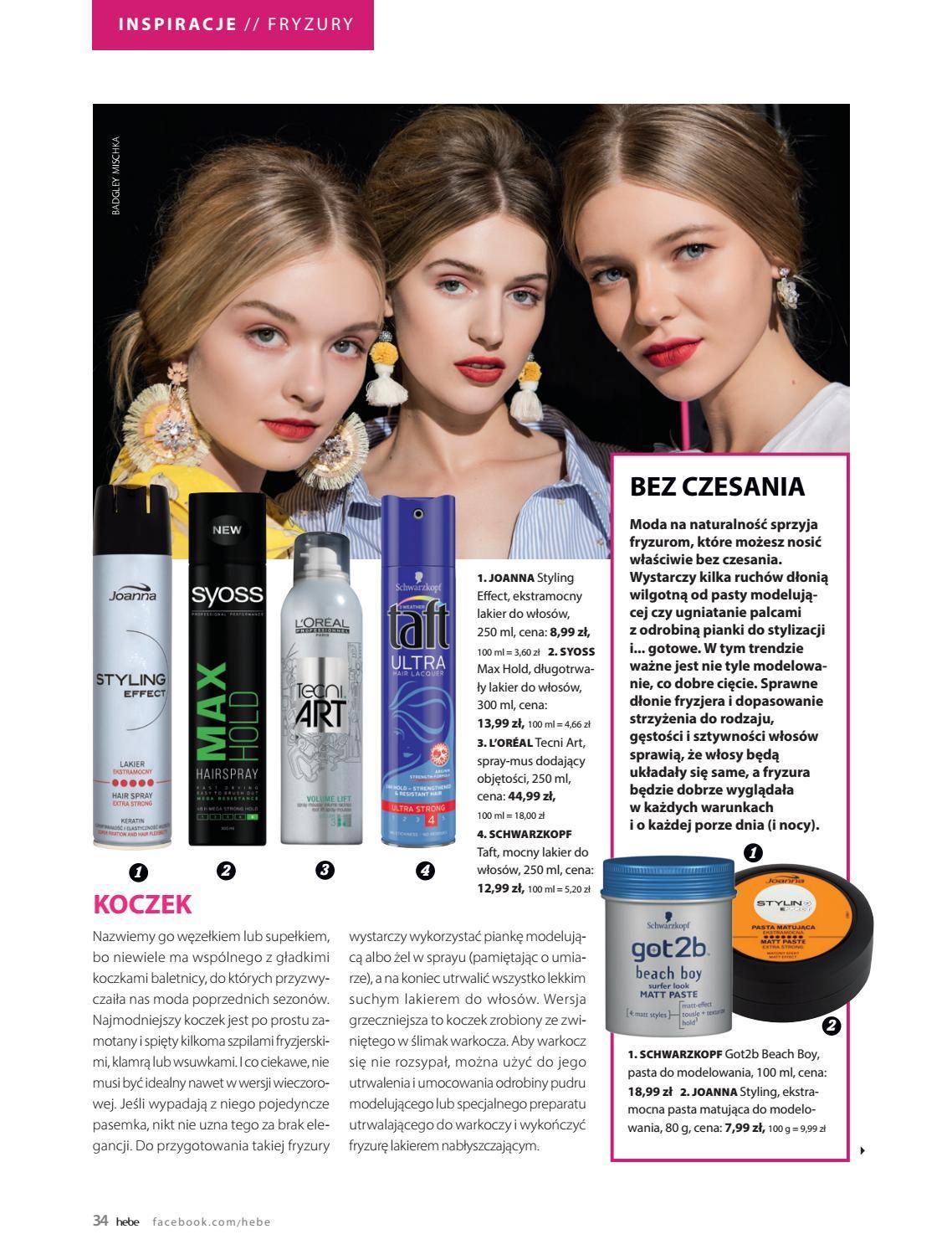 Gazetka promocyjna Hebe do 30/09/2018 str.34