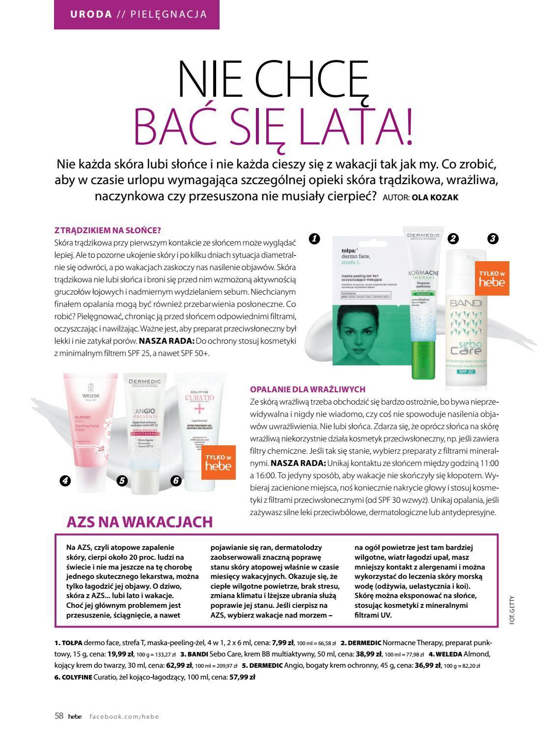 Gazetka promocyjna Hebe do 30/06/2018 str.57
