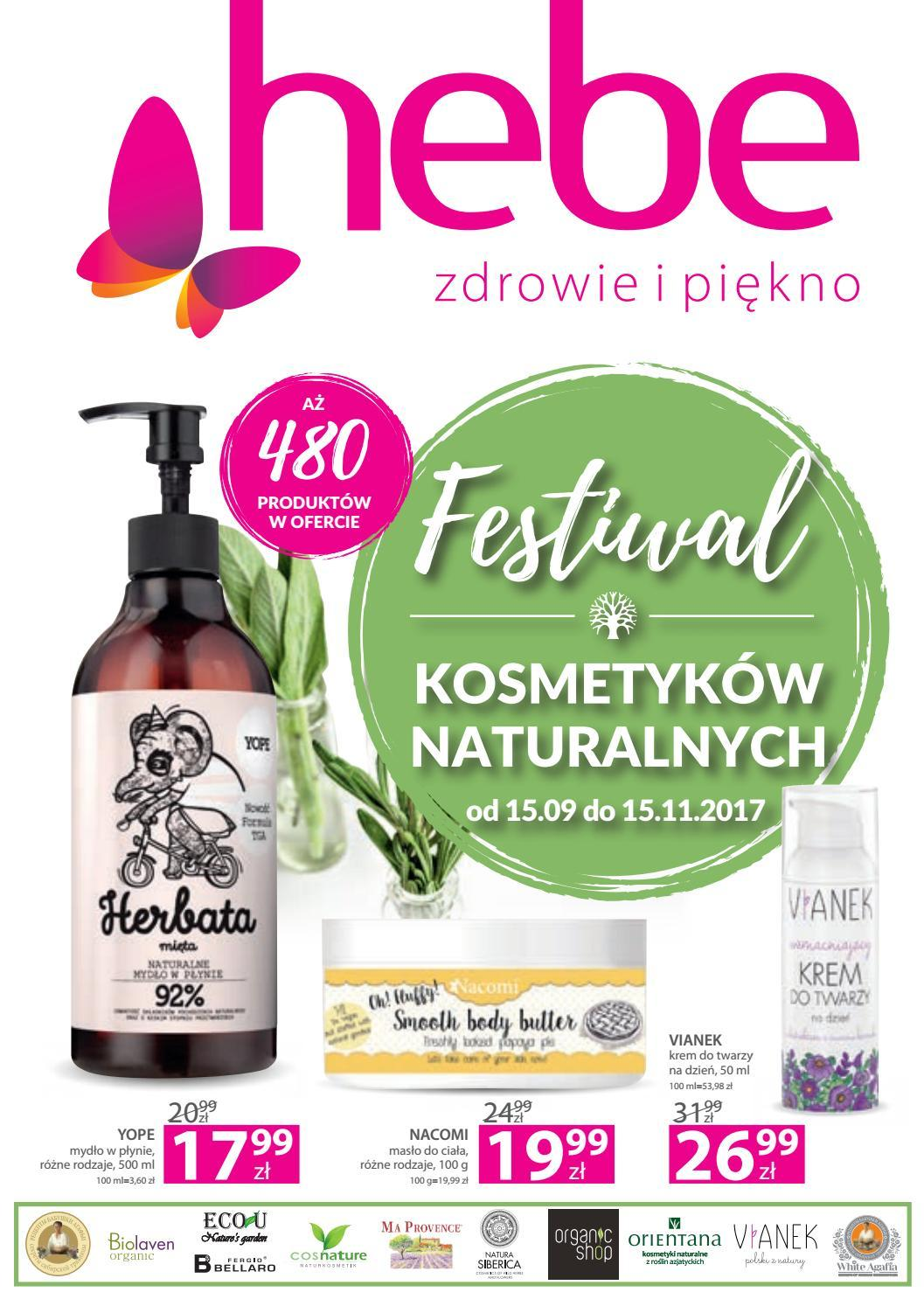 Gazetka promocyjna Hebe do 15/11/2017 str.0