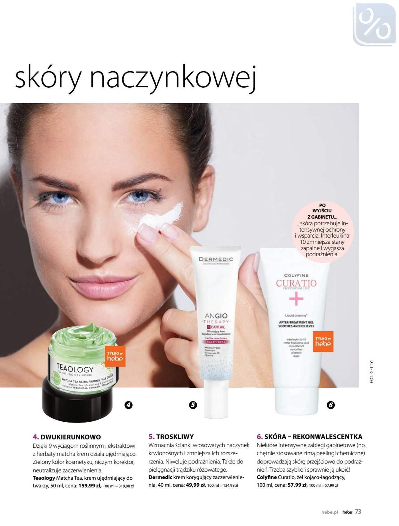 Gazetka promocyjna Hebe do 31/01/2019 str.73