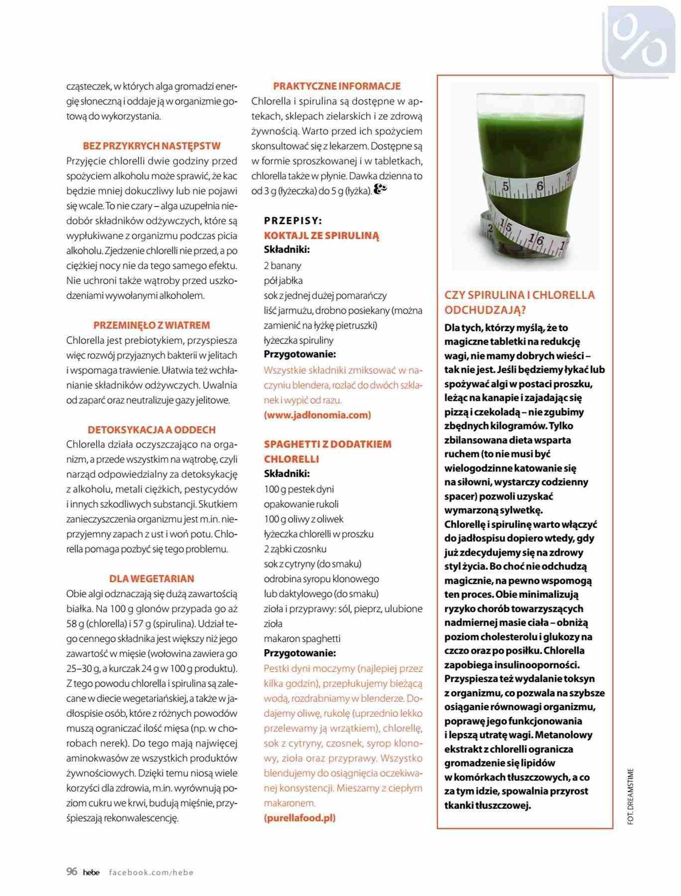 Gazetka promocyjna Hebe do 31/01/2019 str.96