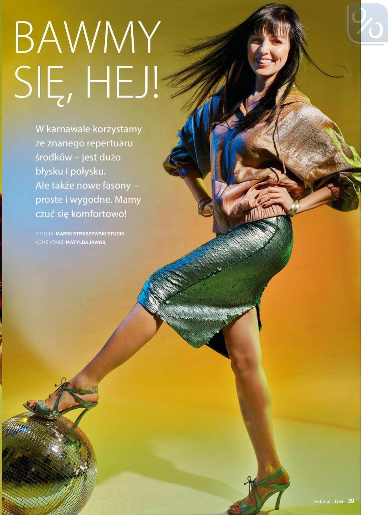 Gazetka promocyjna Hebe do 31/01/2019 str.39
