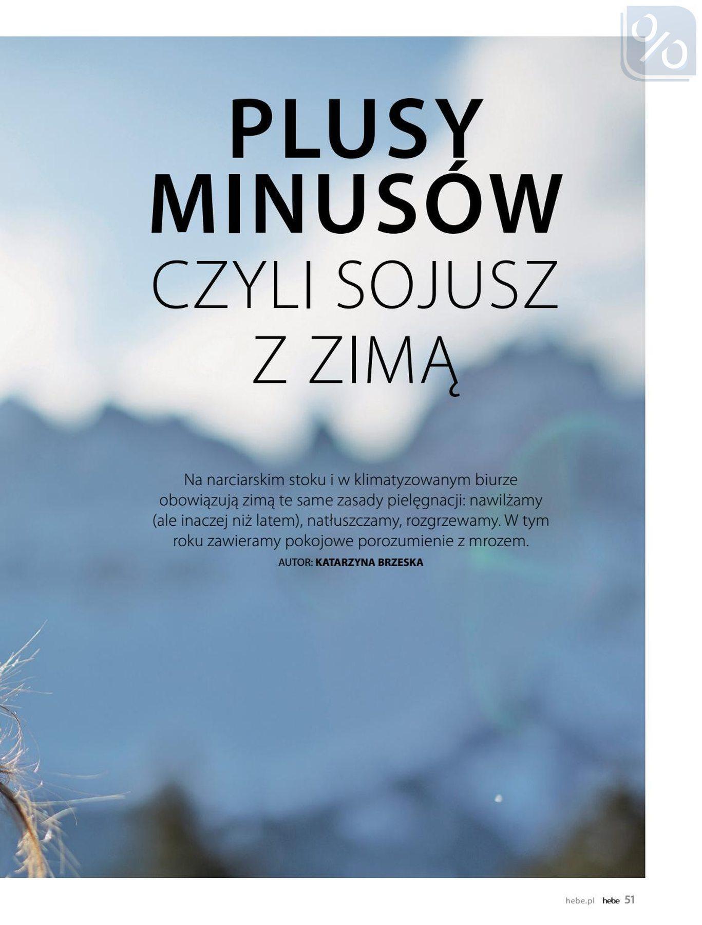 Gazetka promocyjna Hebe do 31/01/2019 str.51
