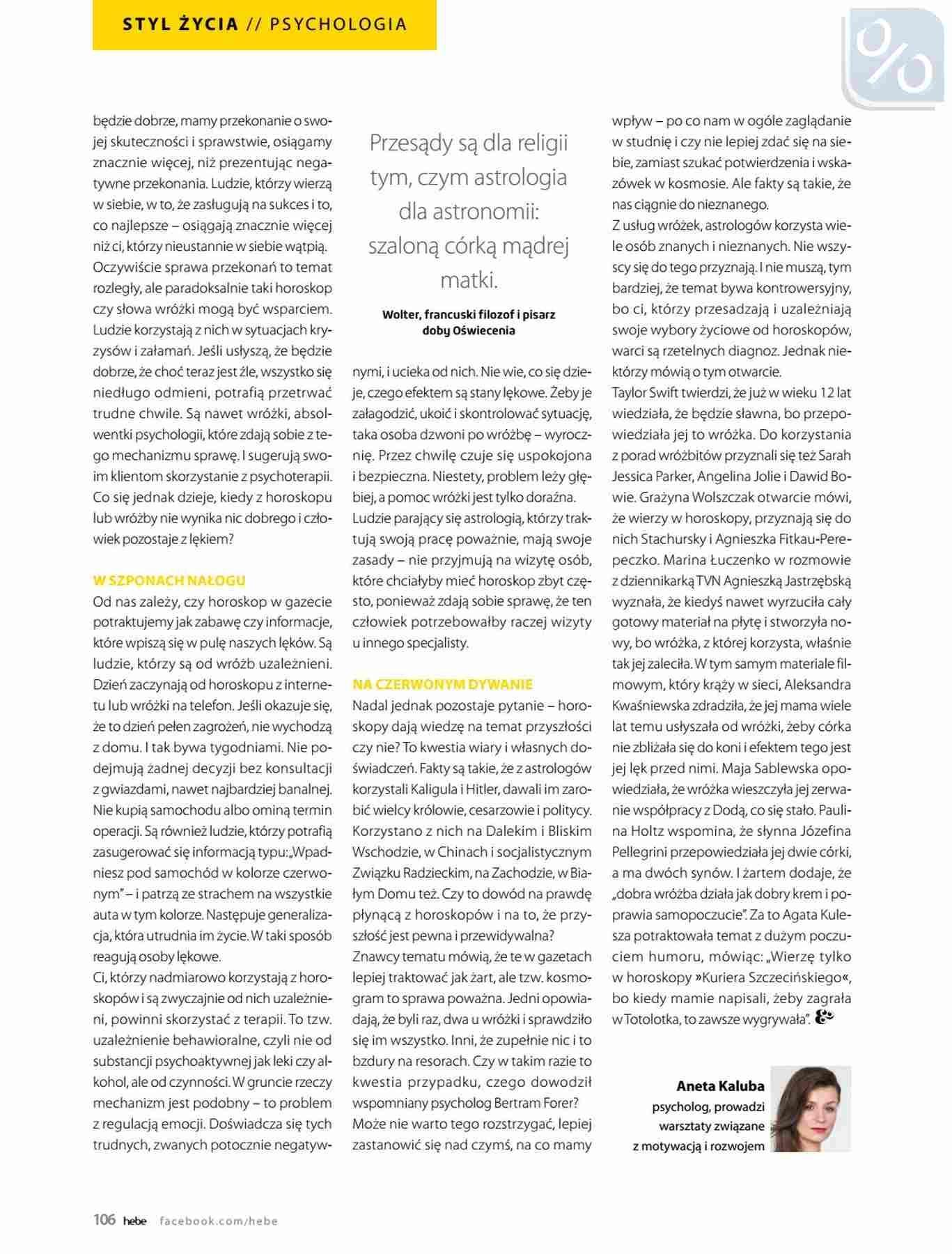 Gazetka promocyjna Hebe do 31/01/2019 str.106