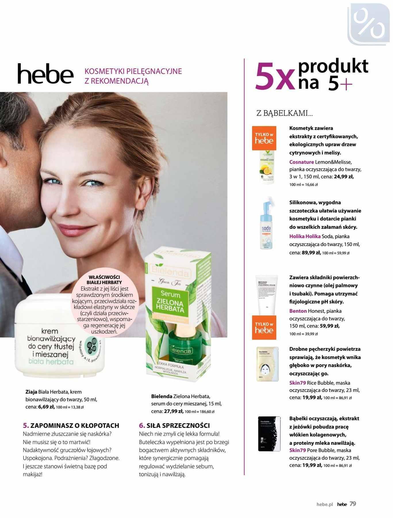 Gazetka promocyjna Hebe do 31/01/2019 str.79