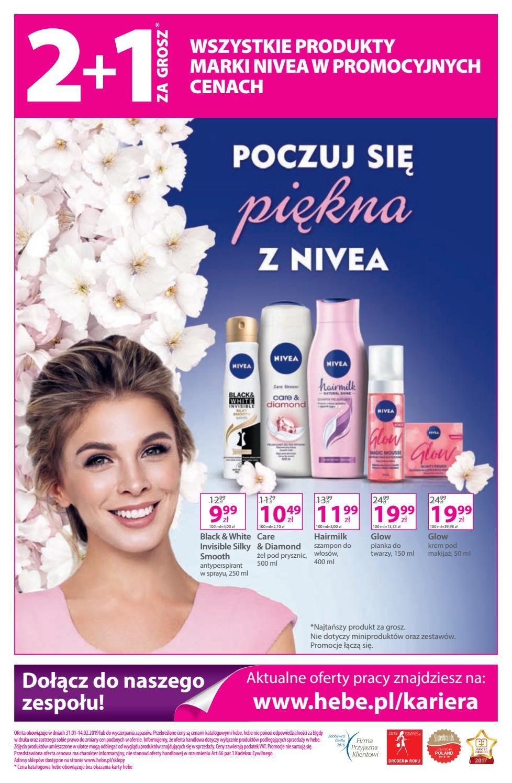 Gazetka promocyjna Hebe do 13/02/2019 str.15