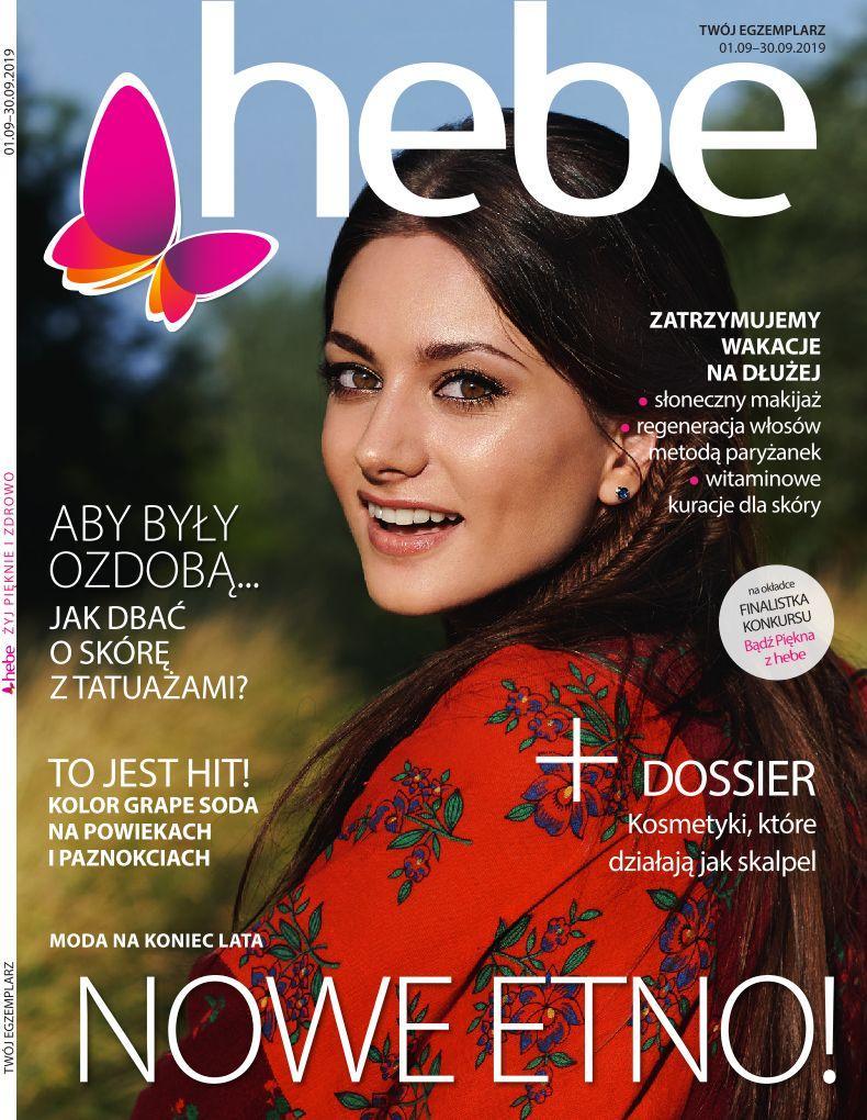 Gazetka promocyjna Hebe do 30/09/2019 str.1