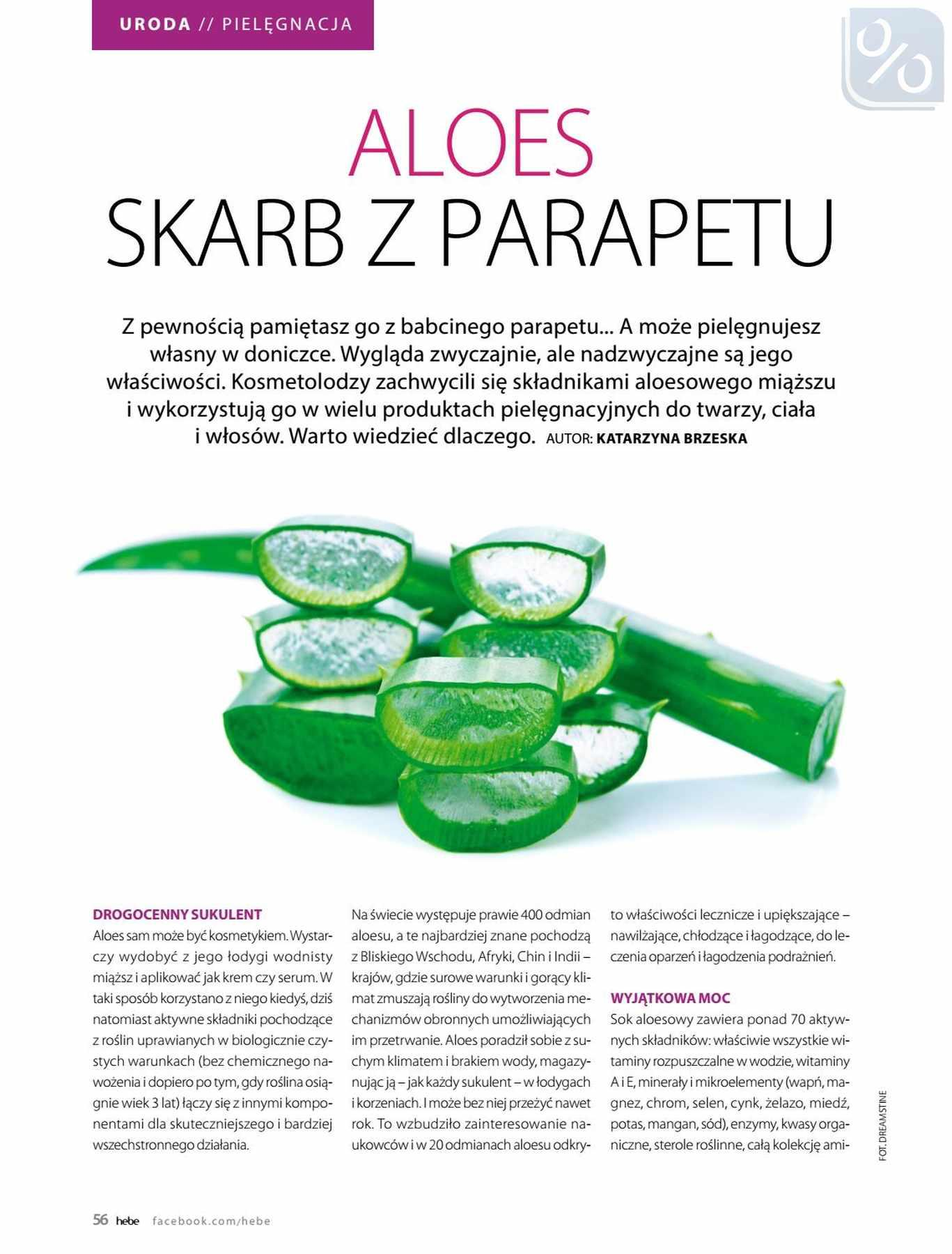 Gazetka promocyjna Hebe do 31/01/2019 str.56