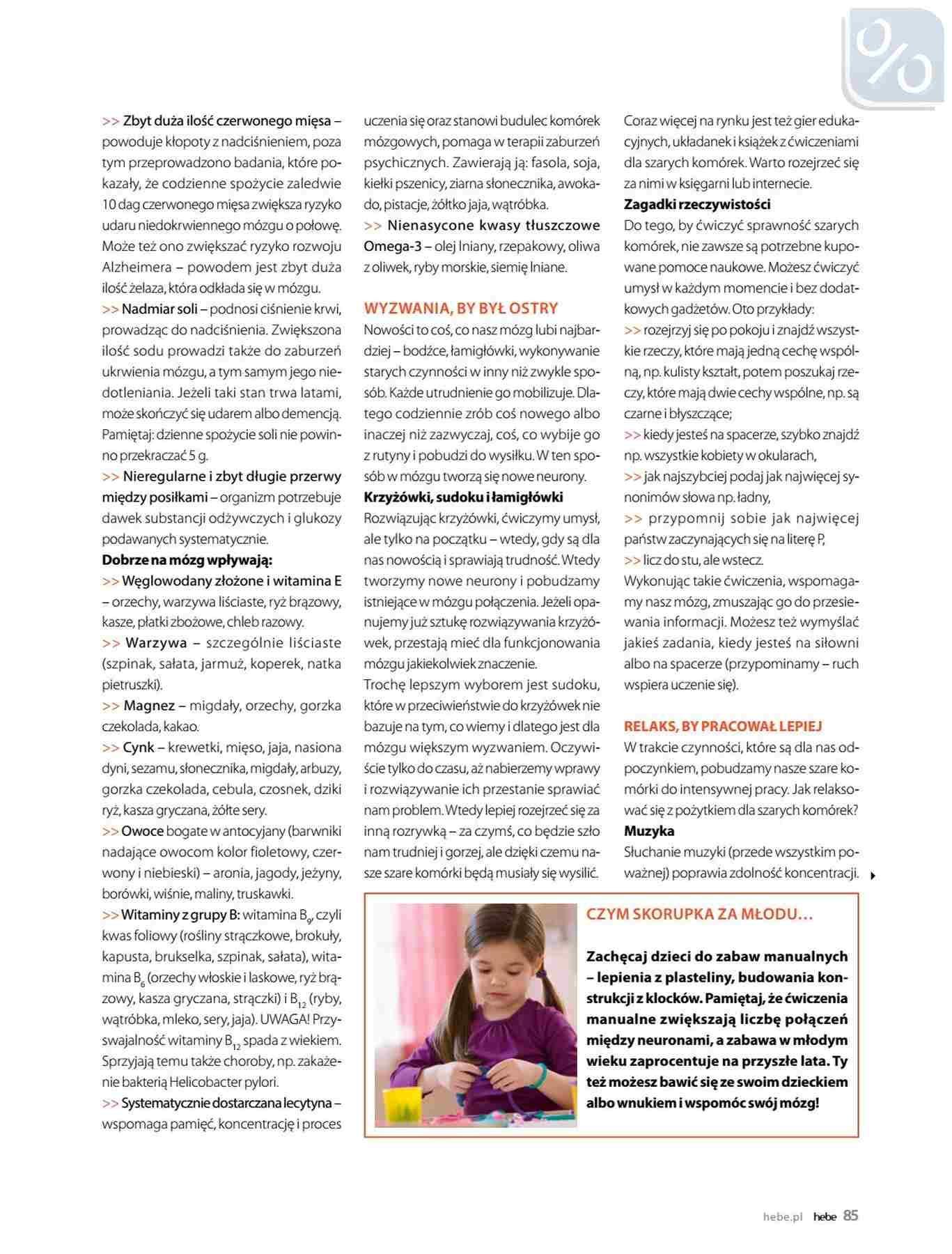 Gazetka promocyjna Hebe do 31/01/2019 str.85