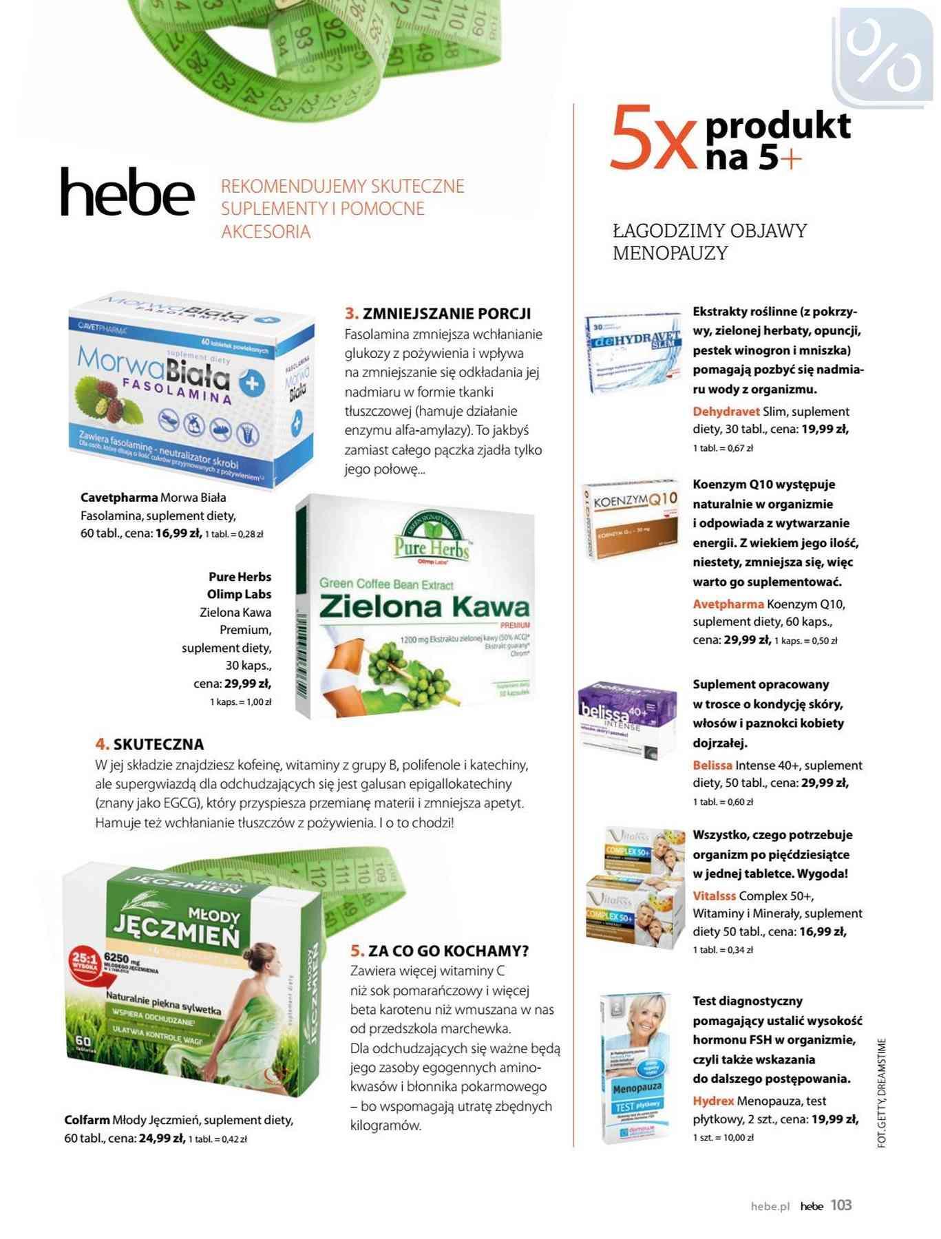 Gazetka promocyjna Hebe do 31/01/2019 str.103