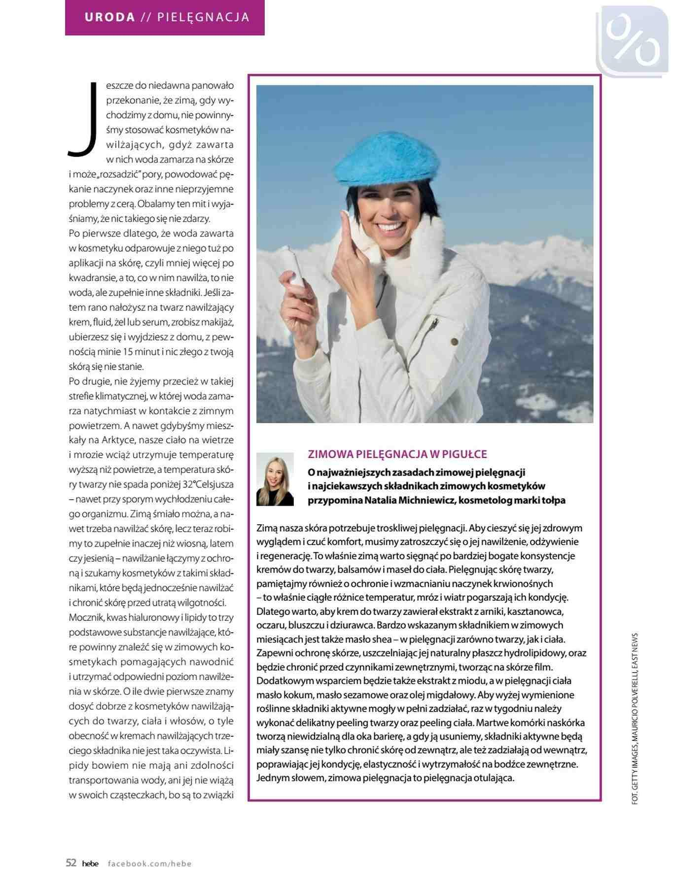 Gazetka promocyjna Hebe do 31/01/2019 str.52