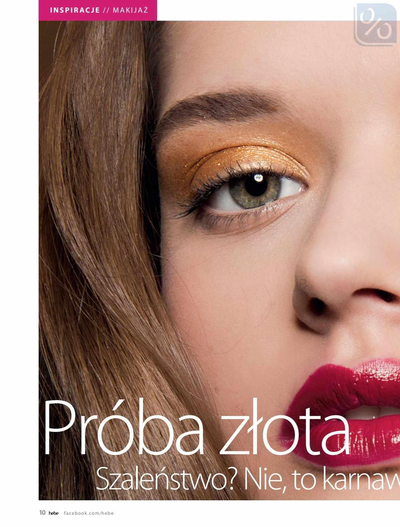 Gazetka promocyjna Hebe do 31/01/2019 str.10