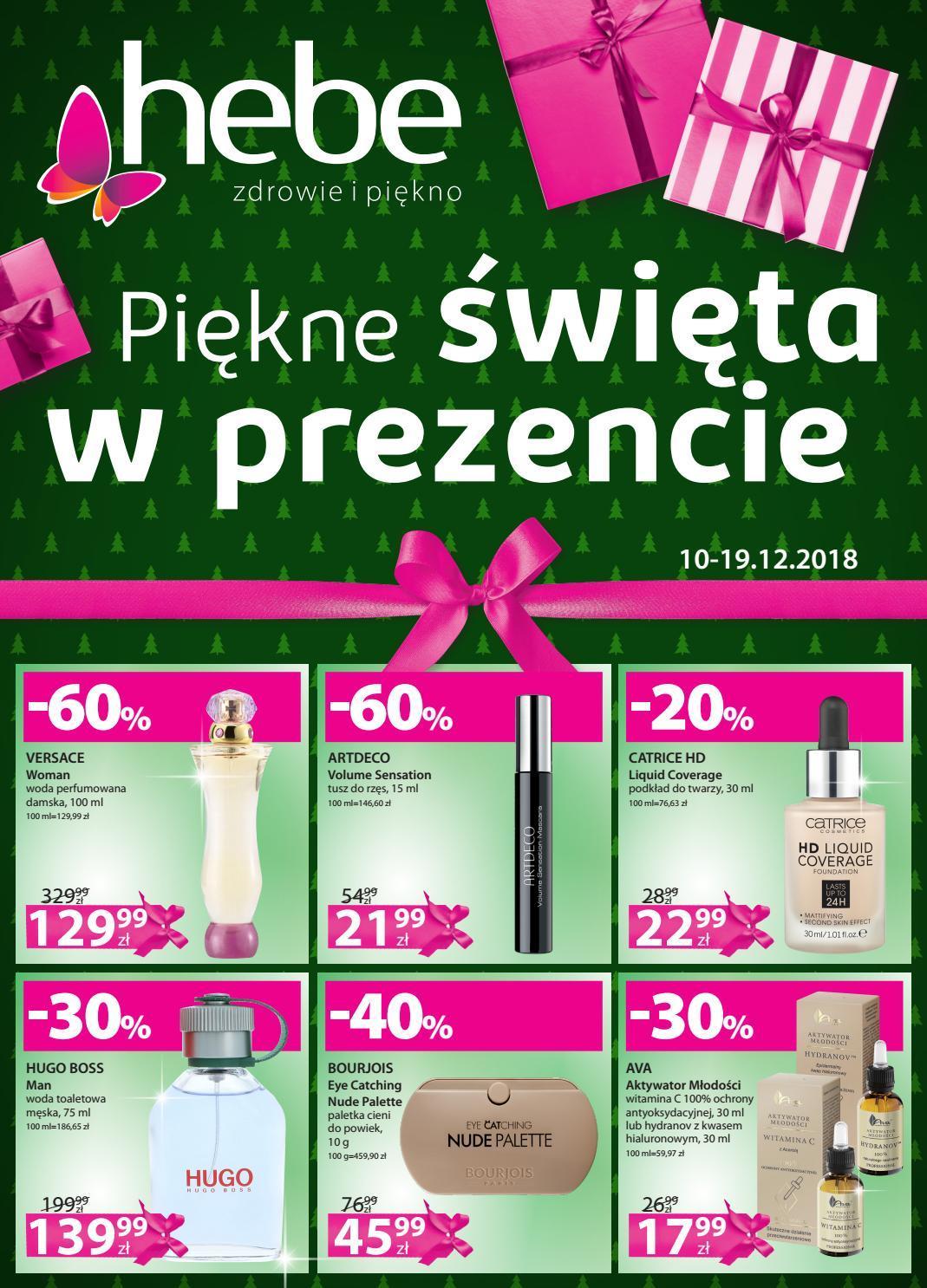 Gazetka promocyjna Hebe do 16/12/2018 str.0