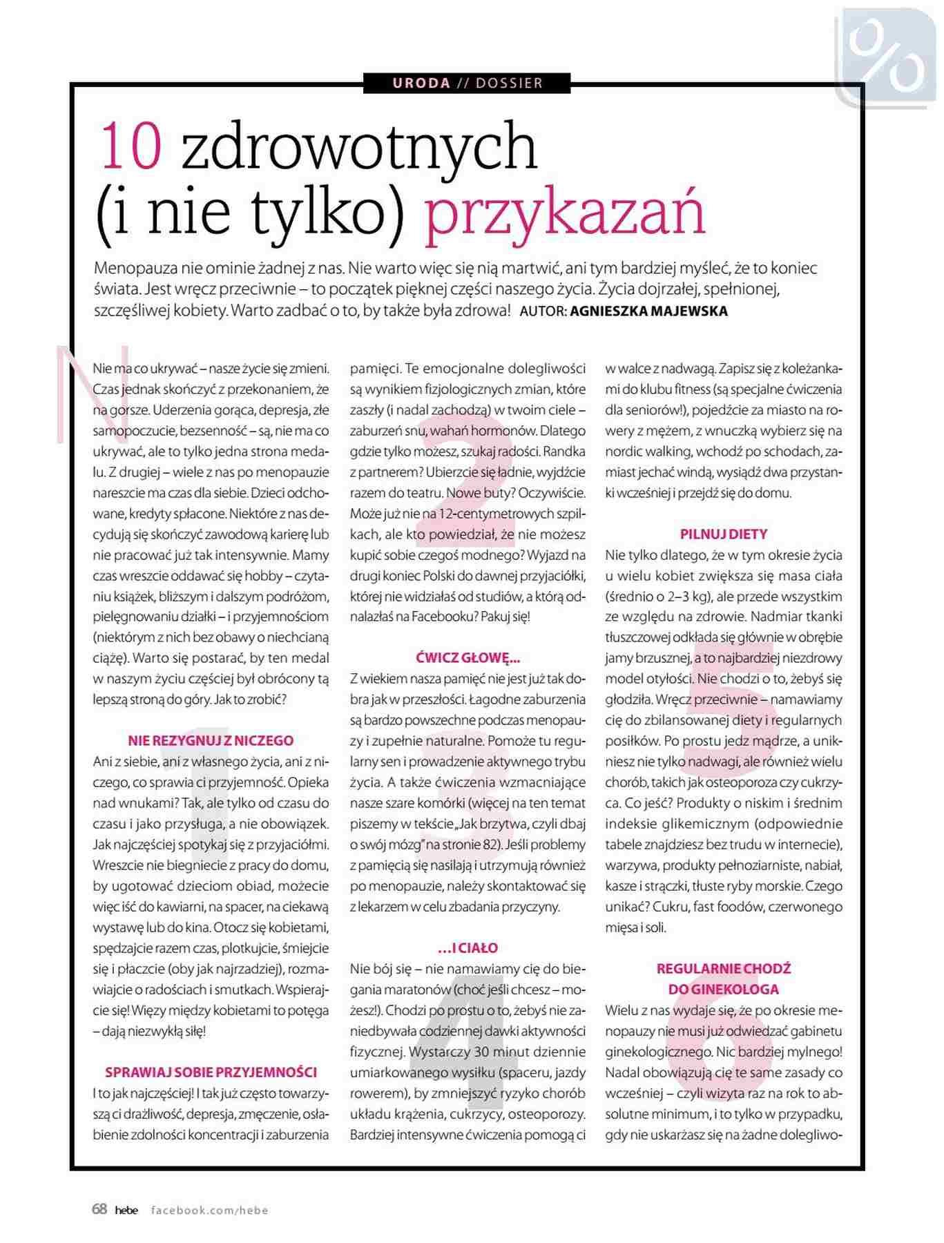 Gazetka promocyjna Hebe do 31/01/2019 str.68