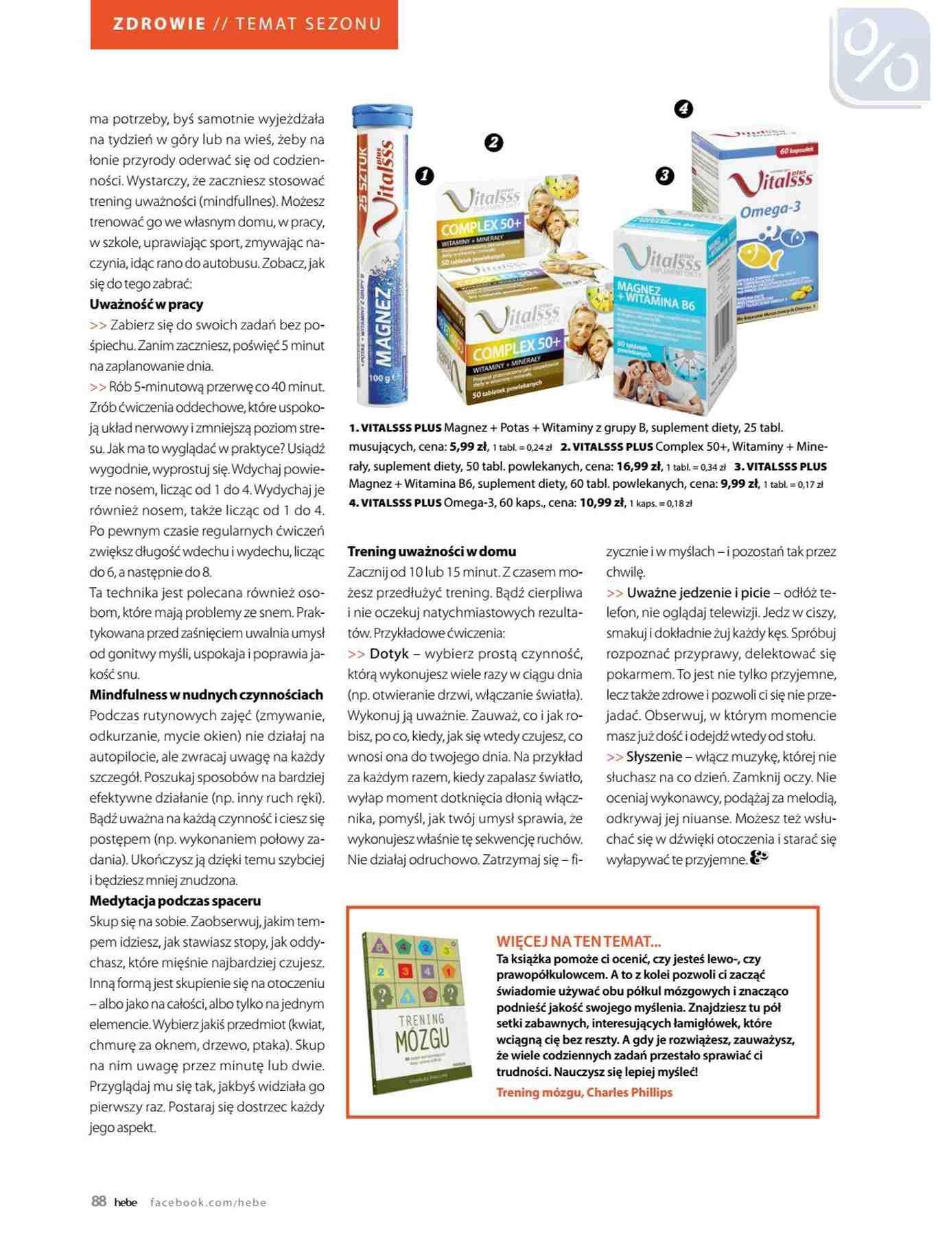 Gazetka promocyjna Hebe do 31/01/2019 str.88