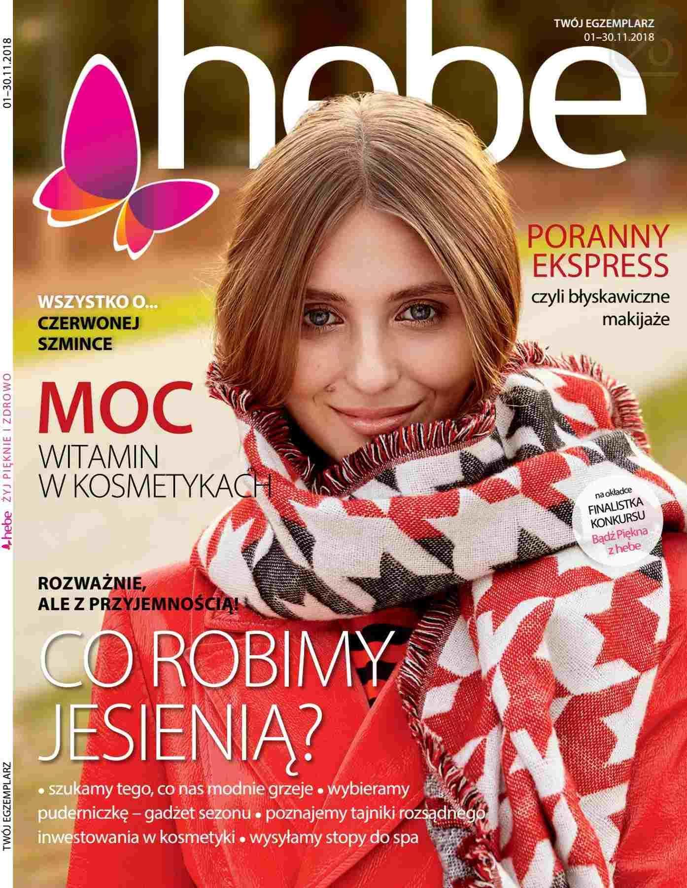 Gazetka promocyjna Hebe do 30/11/2018 str.0