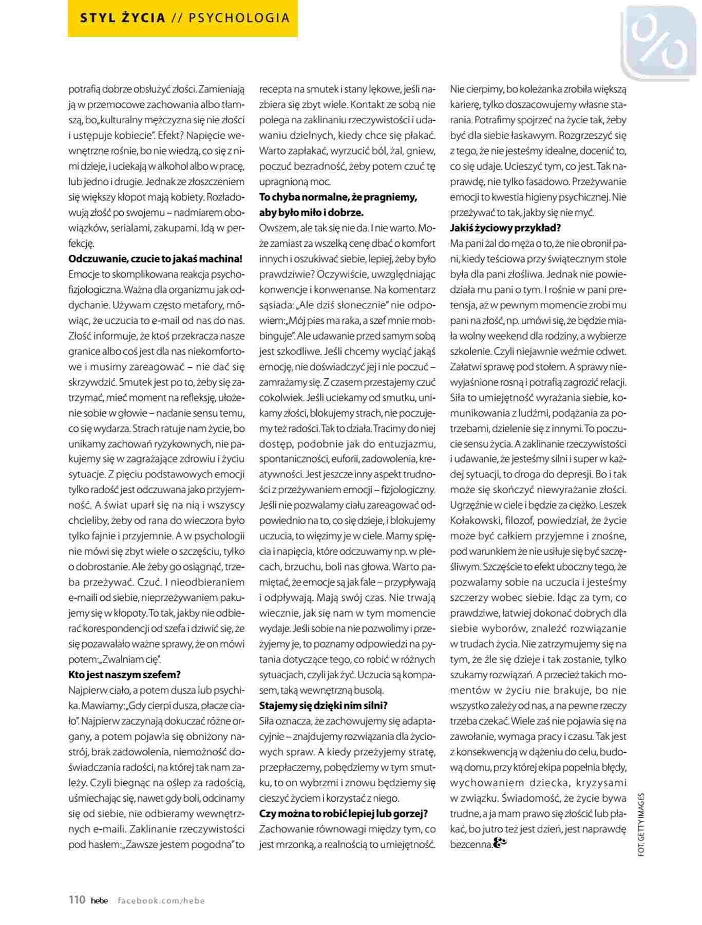 Gazetka promocyjna Hebe do 31/01/2019 str.110