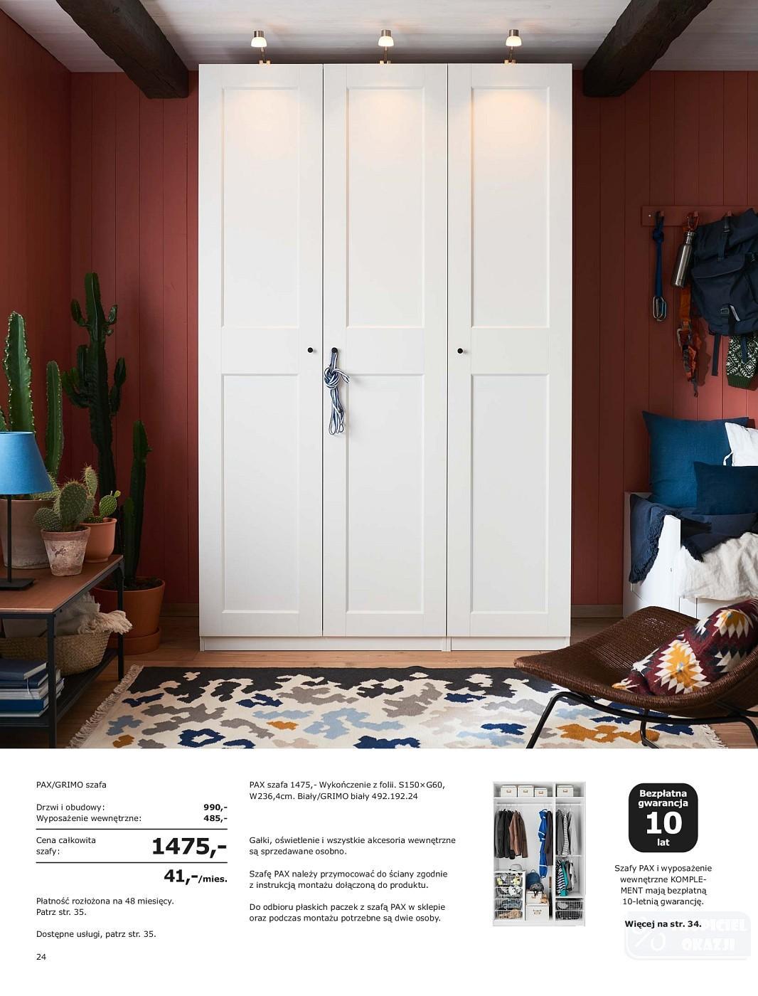 Gazetka Promocyjna I Reklamowa Ikea Szafy 2019 Od 2708