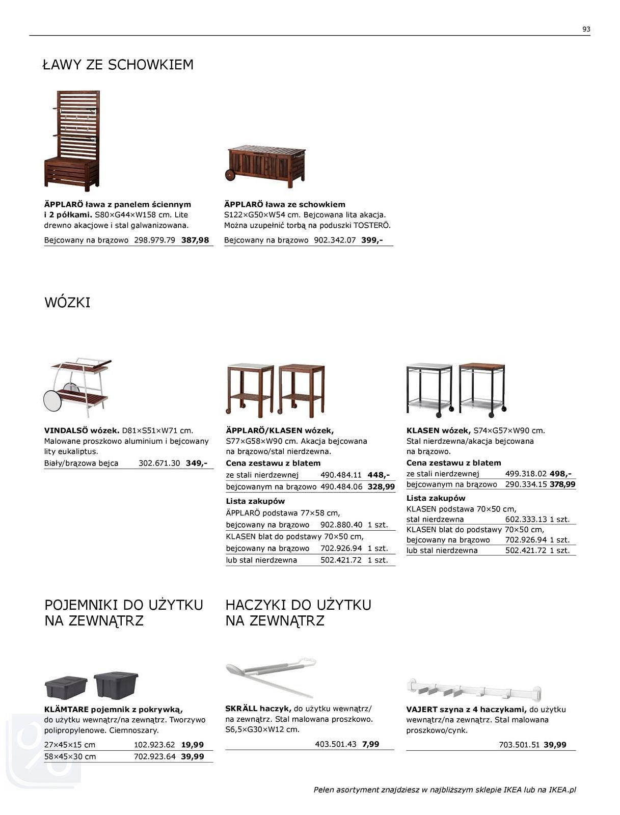 Gazetka promocyjna IKEA do 31/07/2018 str.93