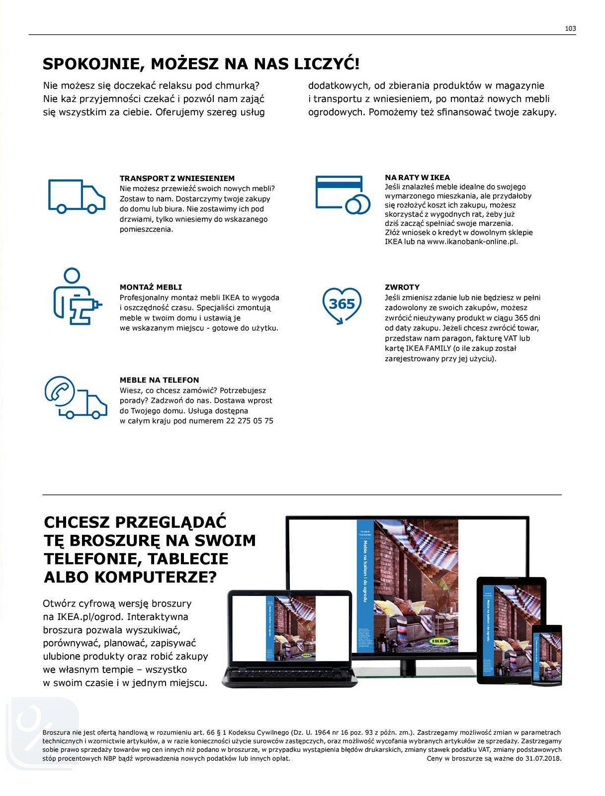 Gazetka promocyjna IKEA do 31/07/2018 str.103