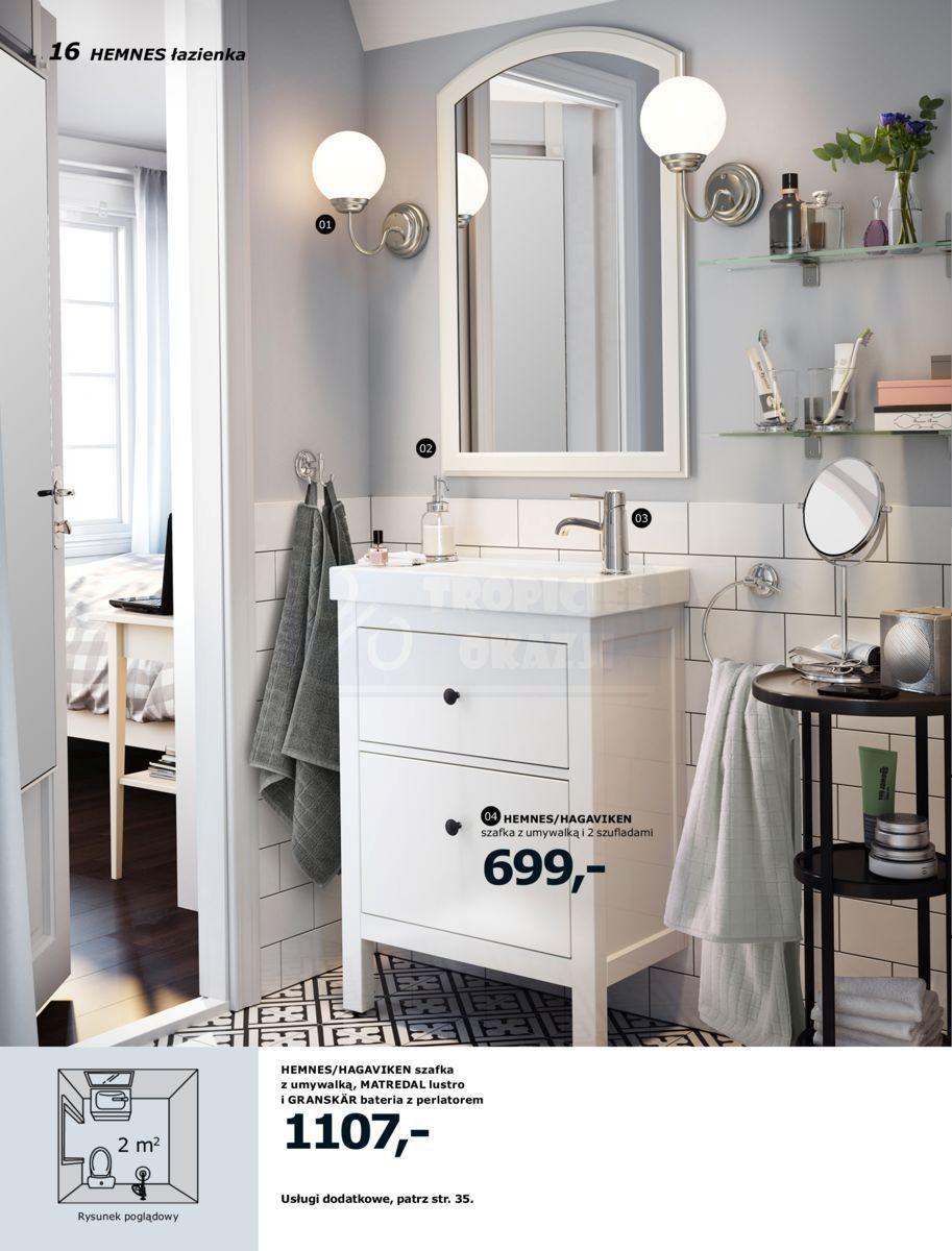 Gazetka Promocyjna I Reklamowa Ikea łazienki 2017 Od 01