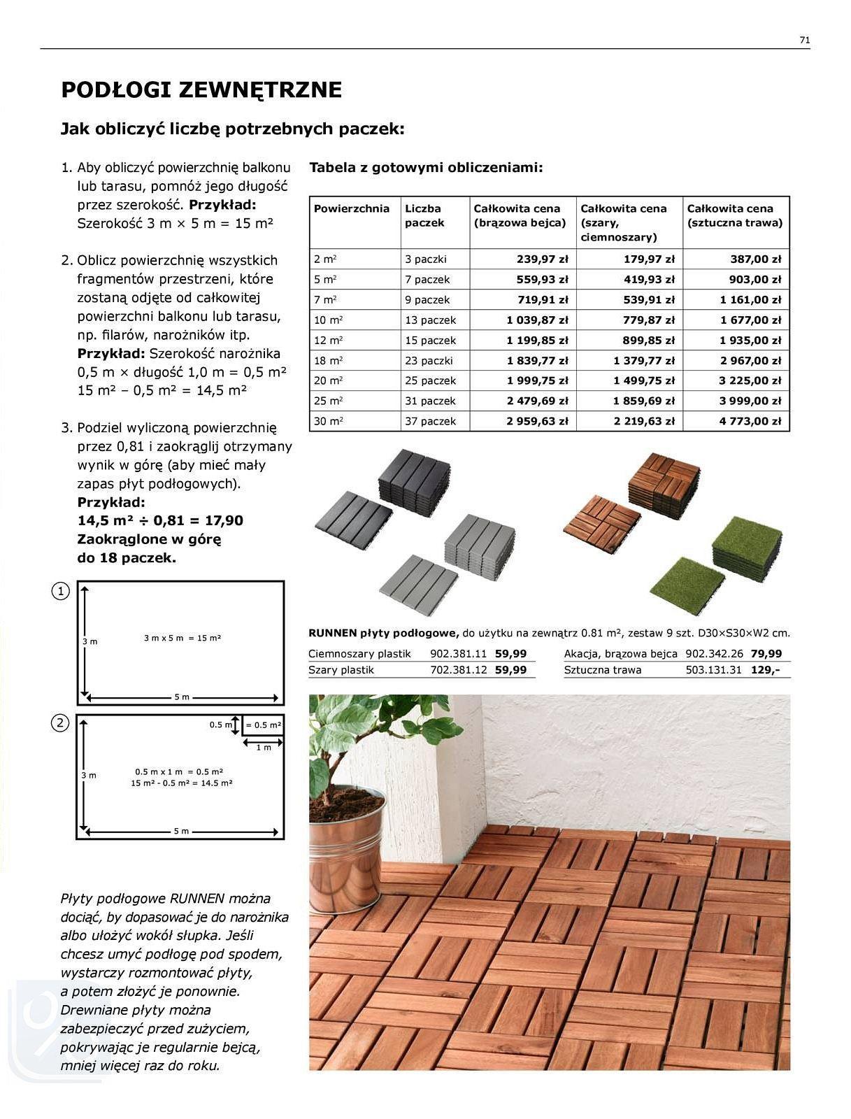 Gazetka promocyjna IKEA do 31/07/2018 str.71