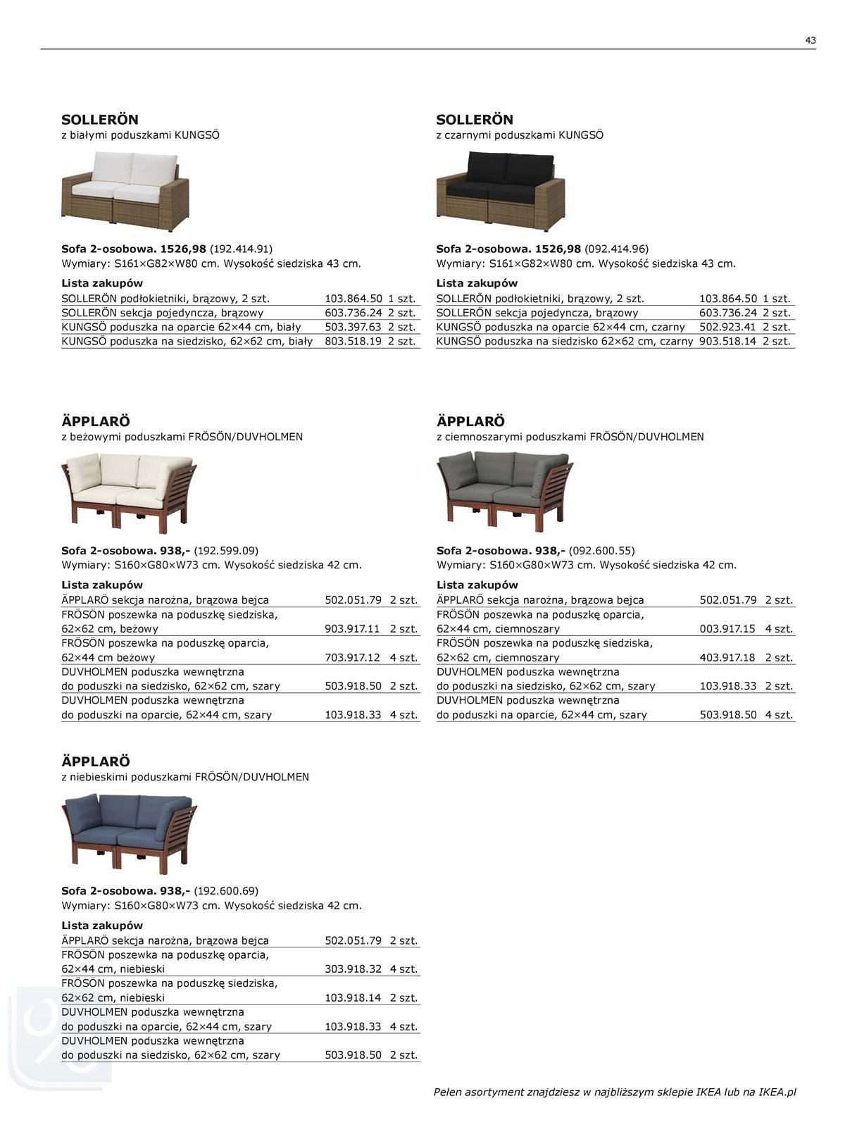 Gazetka promocyjna IKEA do 31/07/2018 str.42