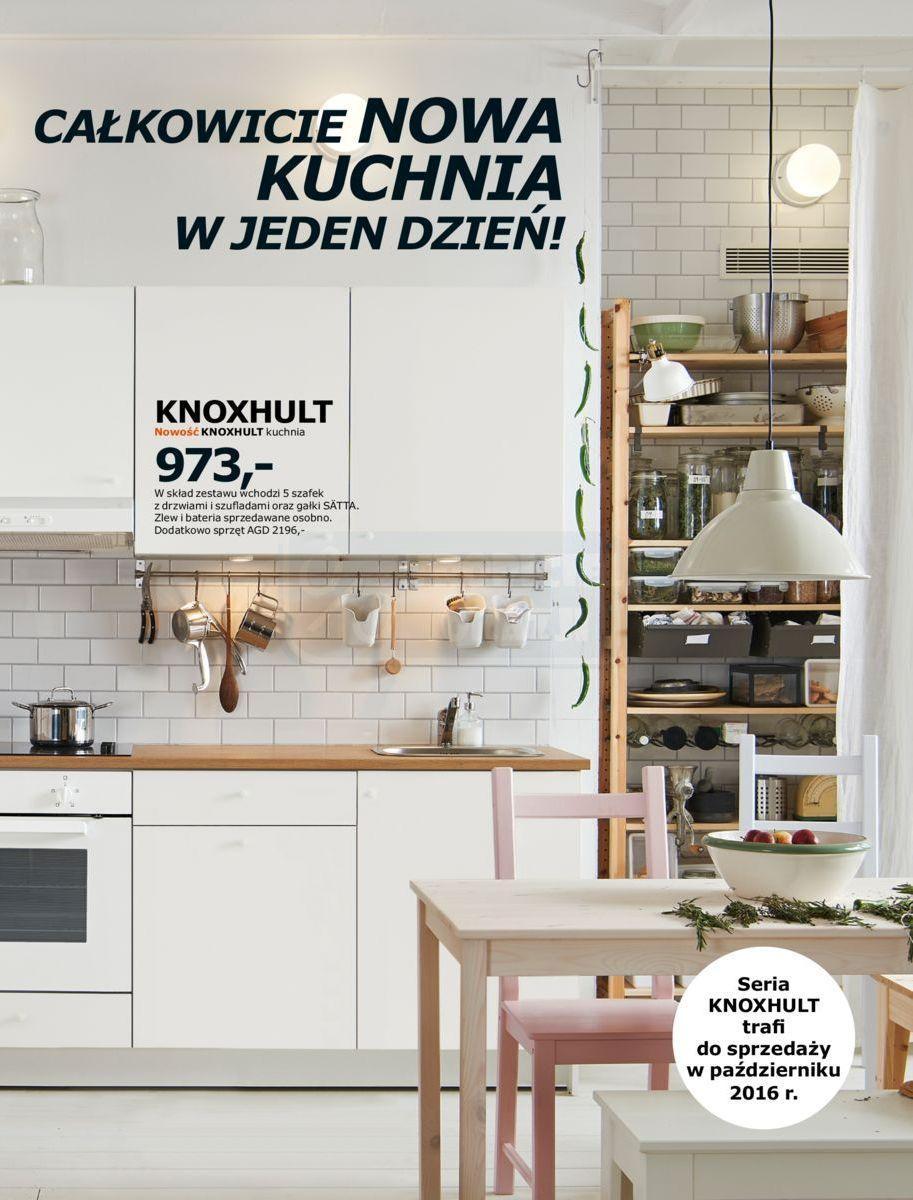 Gazetka Promocyjna I Reklamowa Ikea Kuchnie 2017 Od 01
