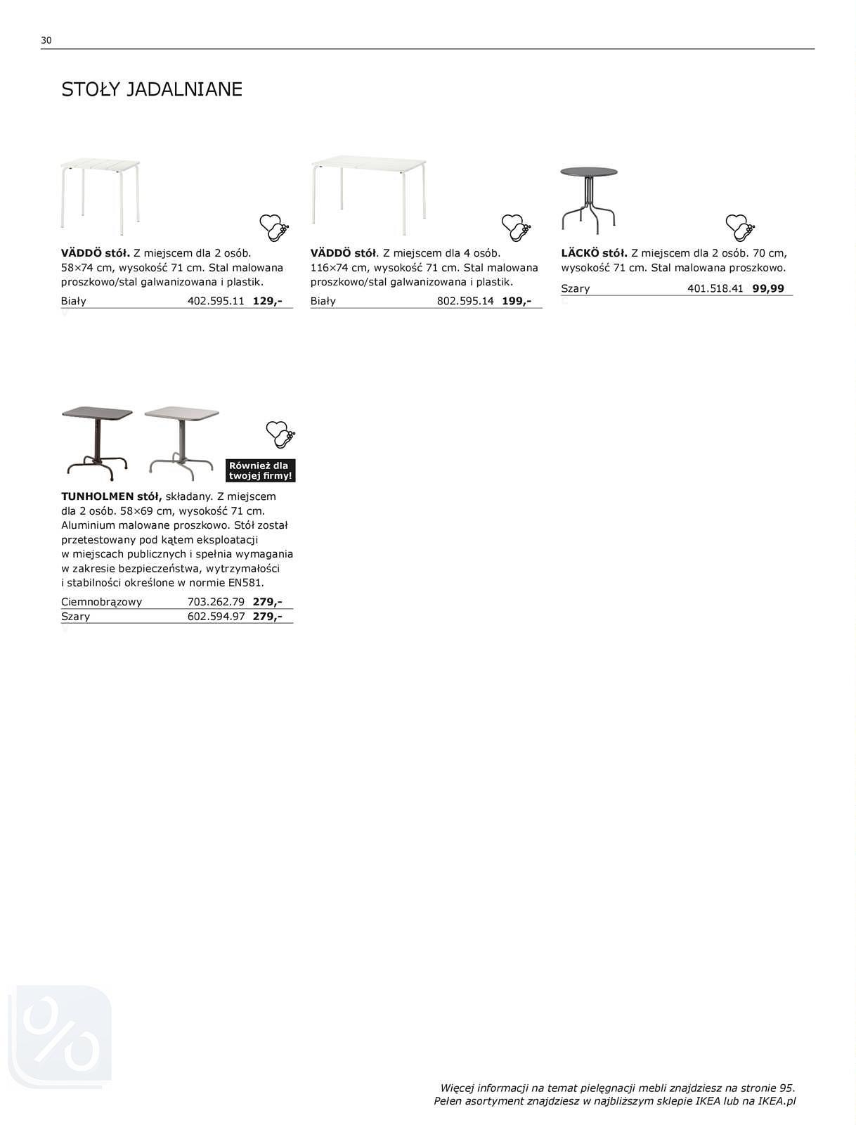 Gazetka promocyjna IKEA do 31/07/2018 str.30