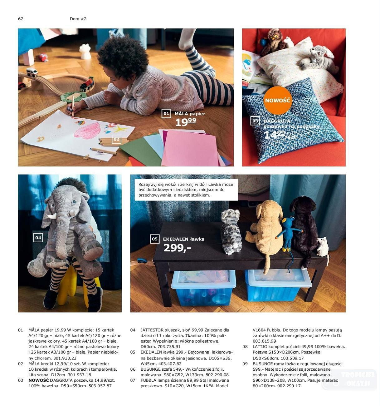 Gazetka promocyjna IKEA do 31/07/2019 str.62