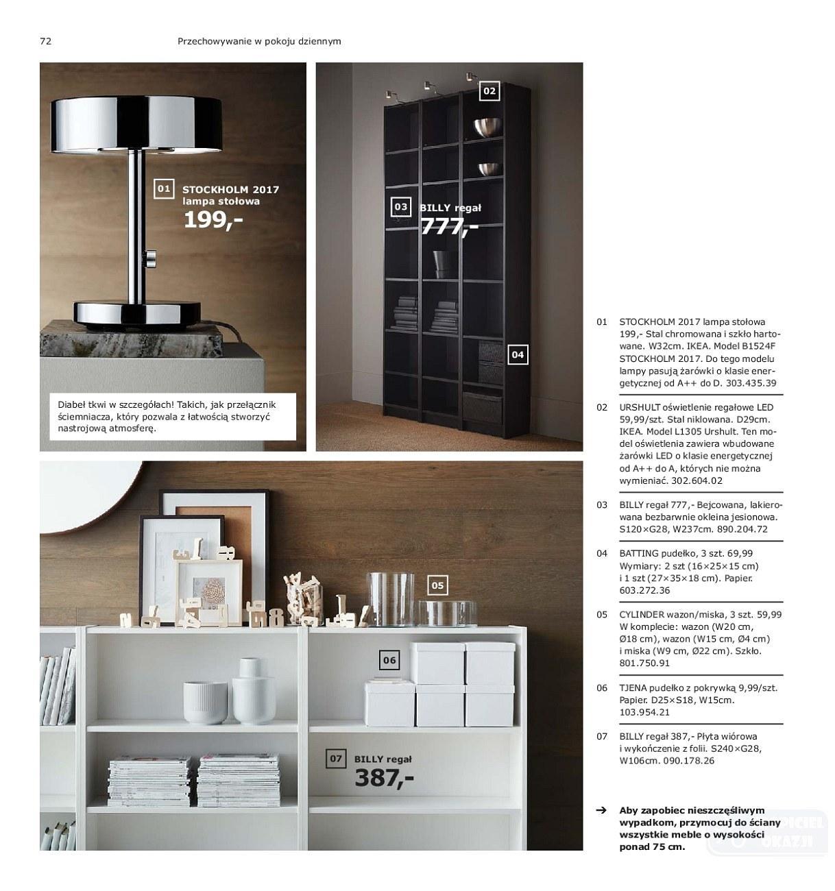 Gazetka promocyjna IKEA do 31/07/2019 str.72