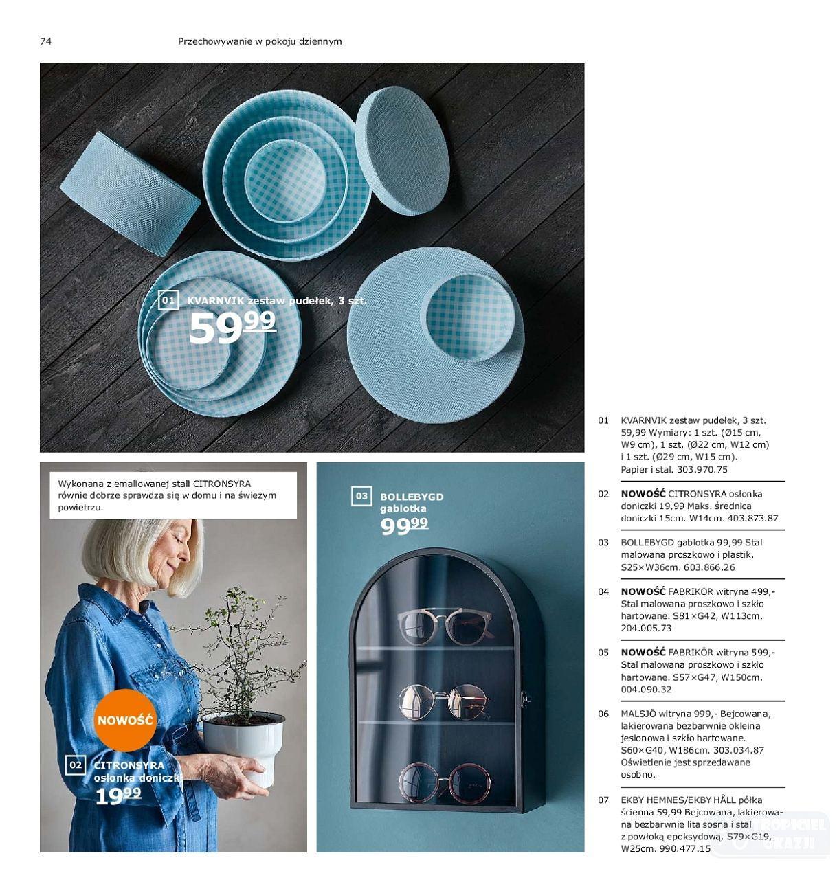 Gazetka promocyjna IKEA do 31/07/2019 str.74