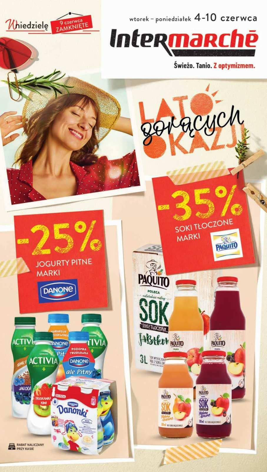 Gazetka promocyjna Intermarche do 10/06/2019 str.0