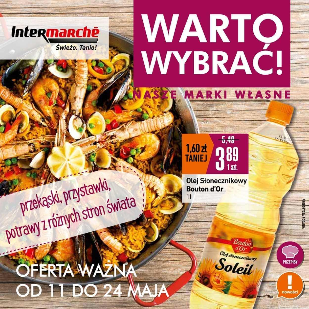 Gazetka promocyjna Intermarche do 24/05/2017 str.0