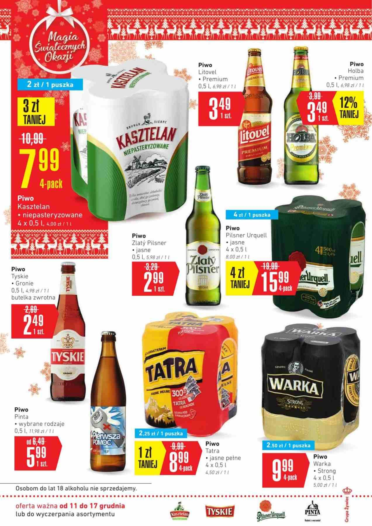 Gazetka promocyjna Intermarche do 17/12/2018 str.21