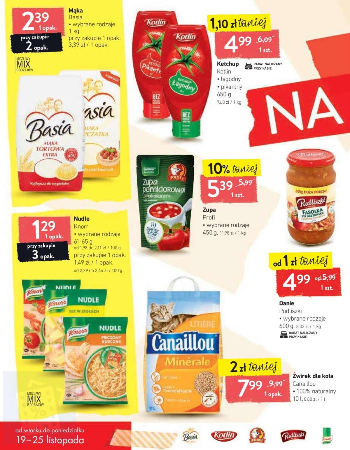 Gazetka promocyjna Intermarche do 25/11/2019 str.1
