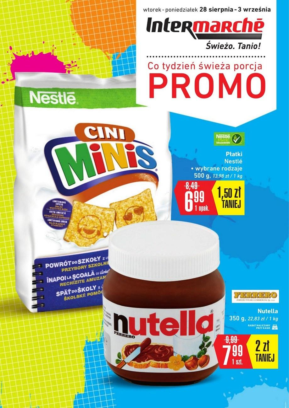 Gazetka promocyjna Intermarche do 03/09/2018 str.1