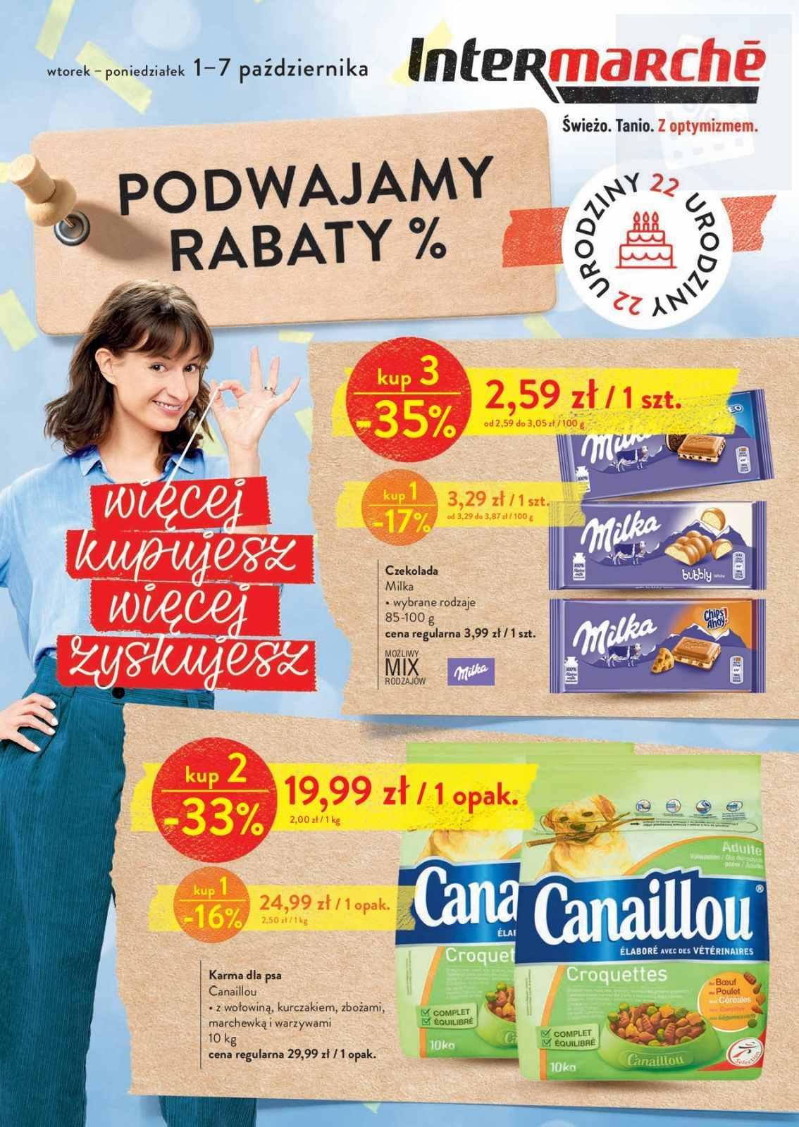Gazetka promocyjna Intermarche do 07/10/2019 str.0