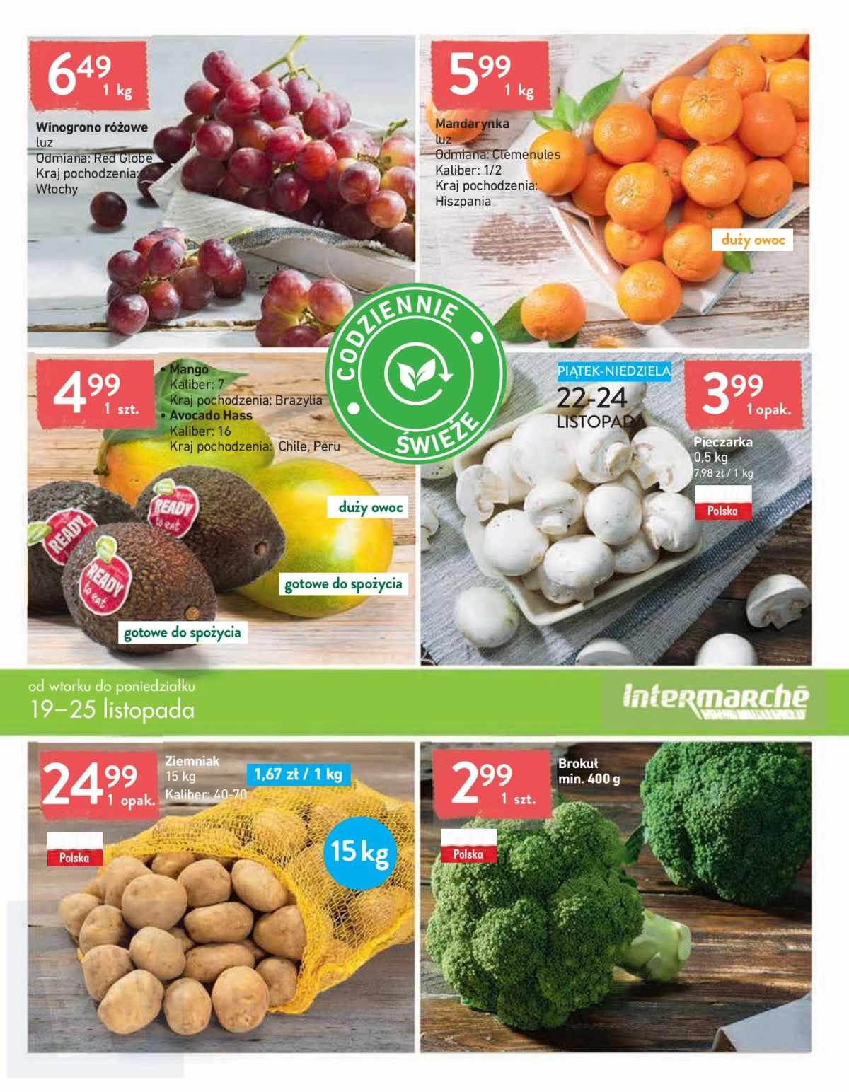 Gazetka promocyjna Intermarche do 25/11/2019 str.6