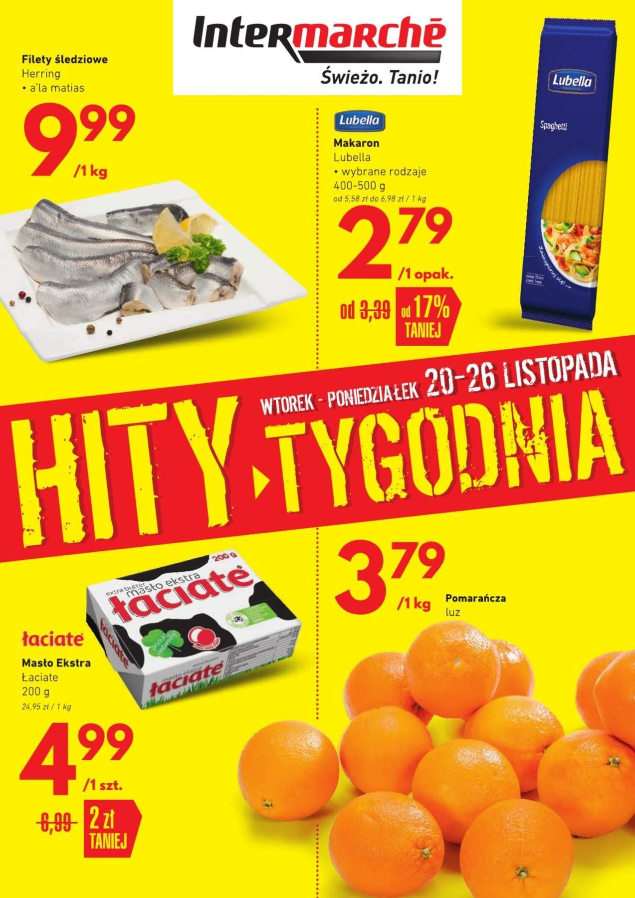 Gazetka promocyjna Intermarche do 26/11/2018 str.0